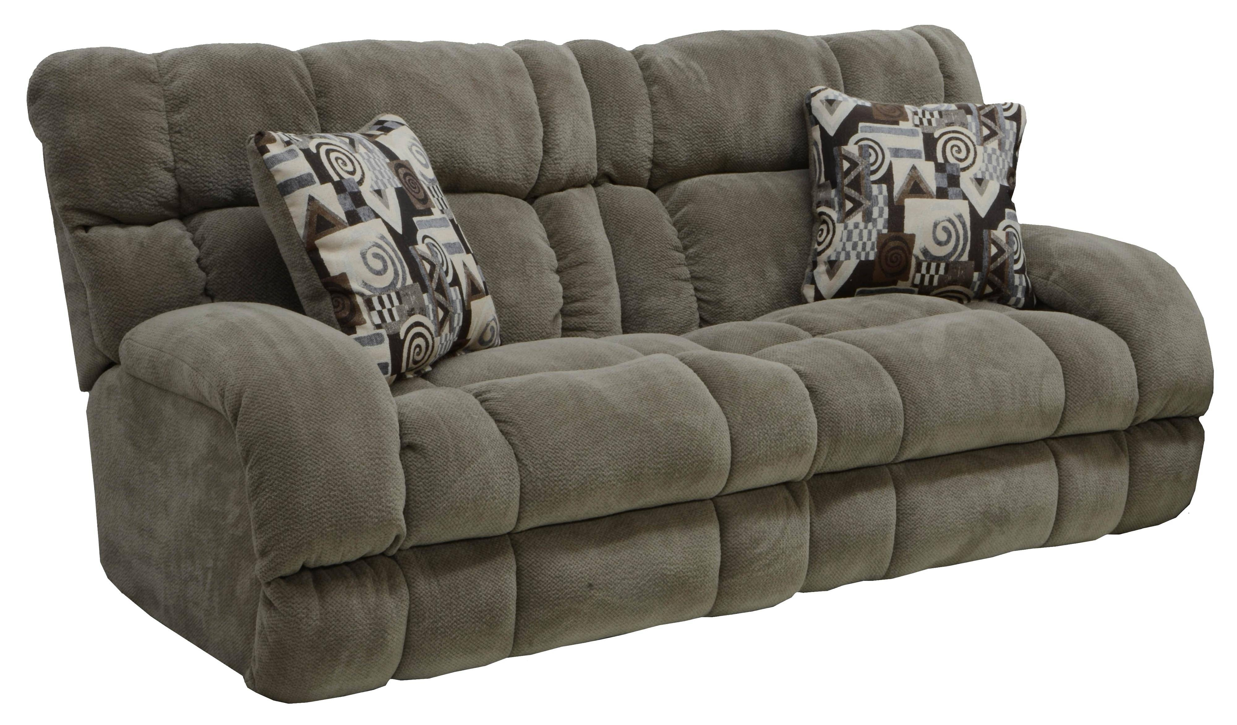 Power Lay Flat Reclining Sofa With Wide Seatscatnapper | Wolf For Catnapper Recliner Sofas (View 8 of 15)