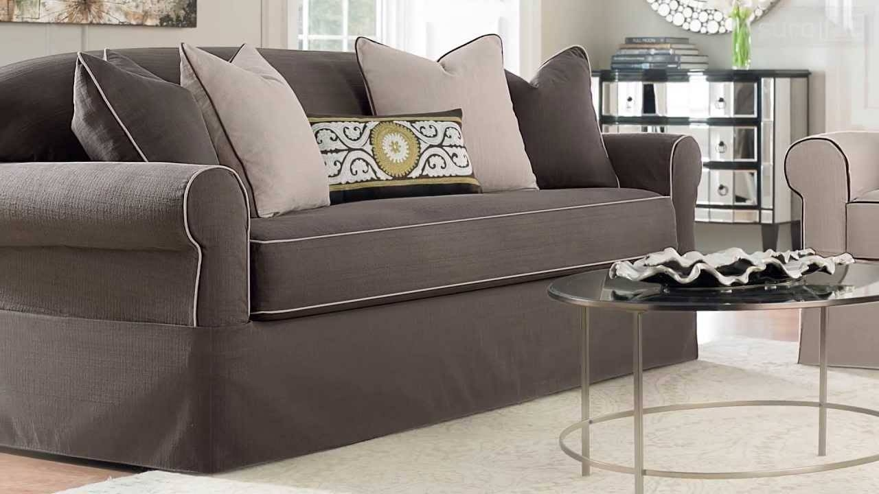 Premier Installation – Youtube Within Stretch Slipcovers For Sofas (View 10 of 15)