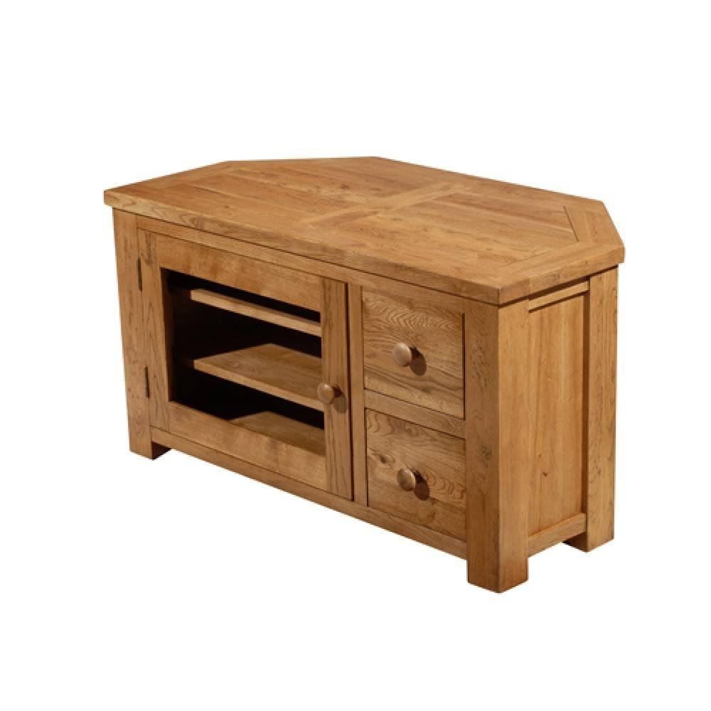 Living Room Furniture For Corner Cabinet: 15 Best Real Wood Corner Tv Stands