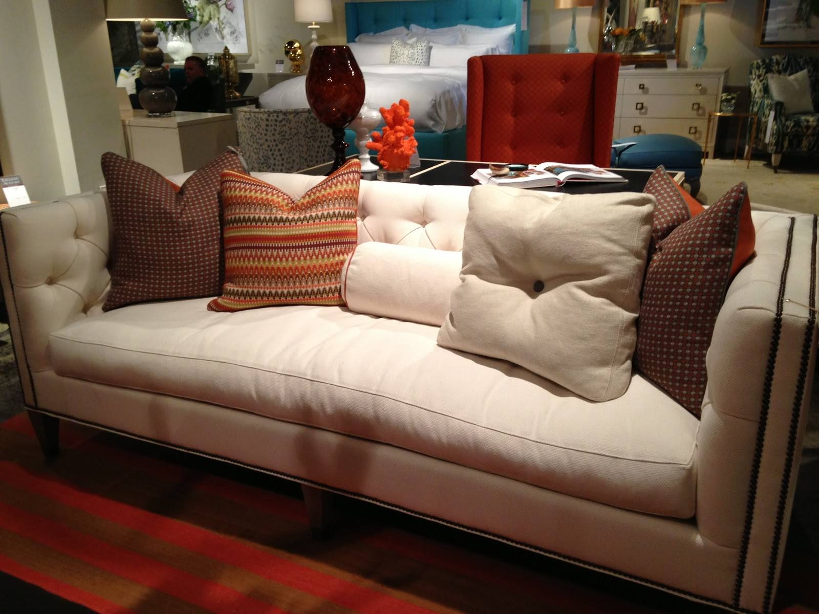 Pretty Inspirational: April 2013 in Bench Cushion Sofas (Image 10 of 15)