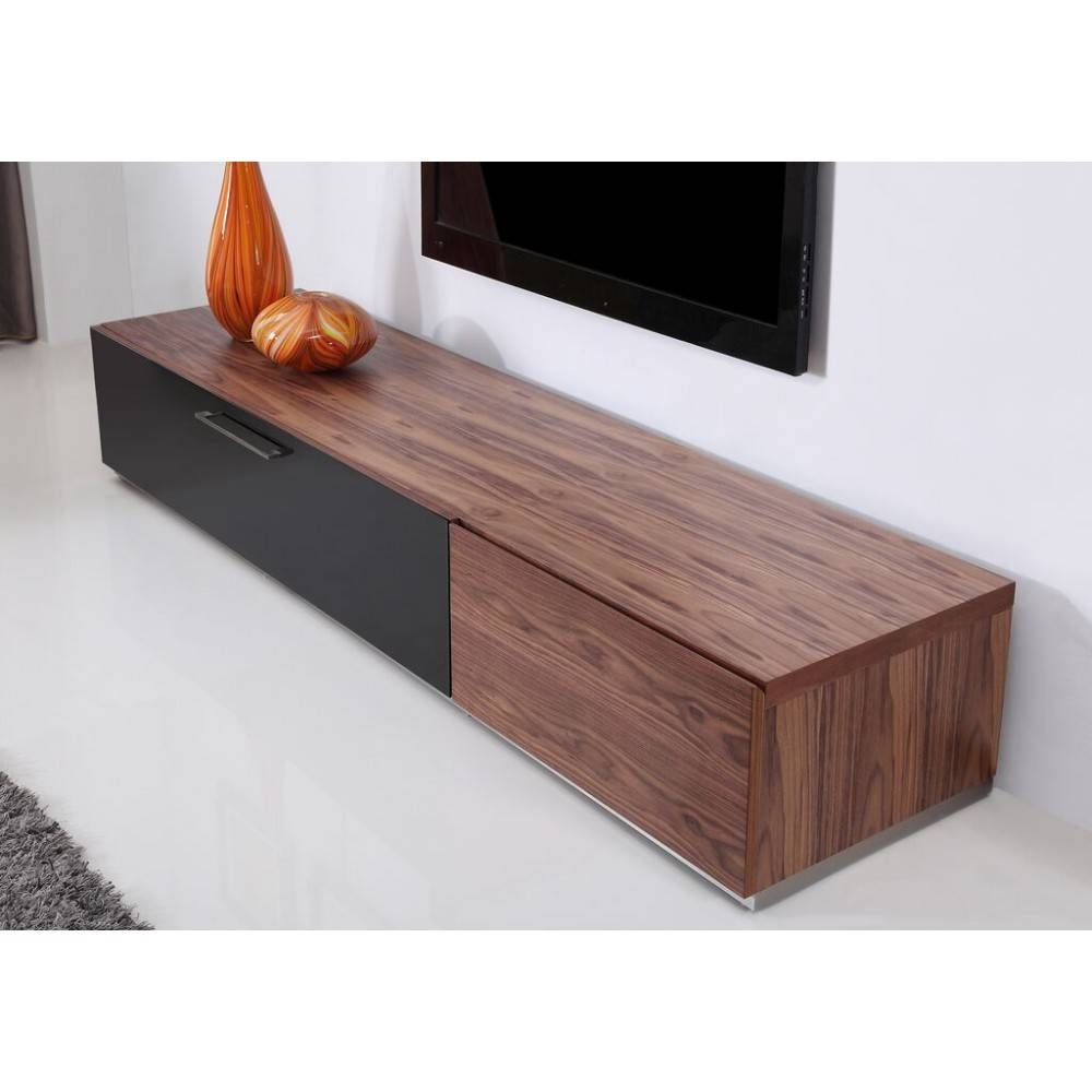 Producer Tv Stand | Light Walnut, B-Modern - Modern Manhattan regarding Modern Walnut Tv Stands (Image 11 of 15)