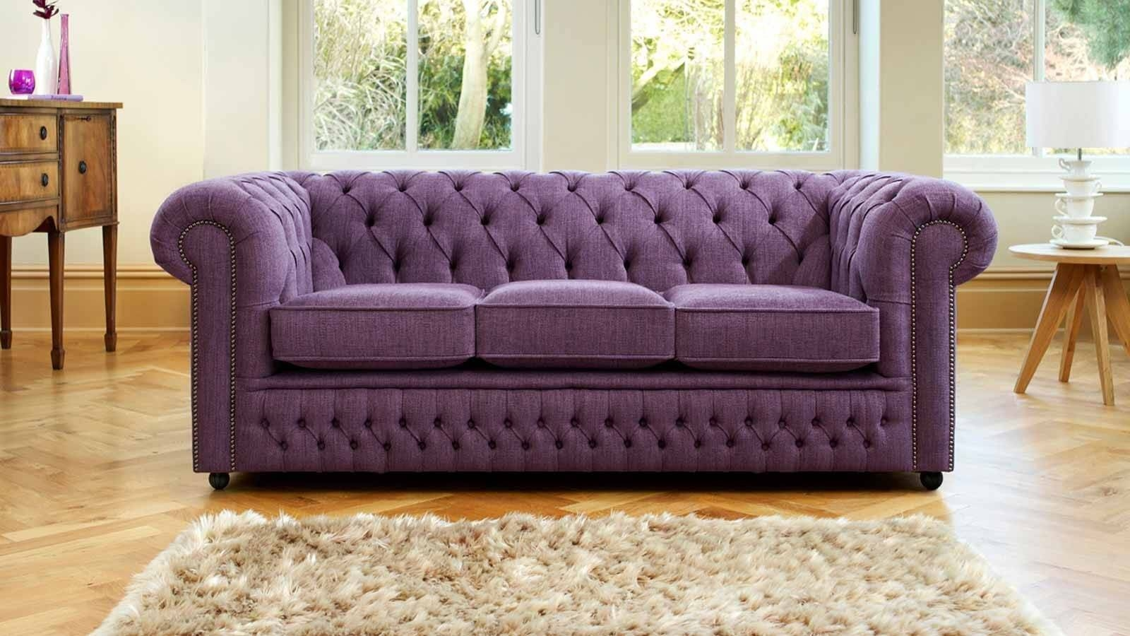 Purple Chesterfield Sofa - Classy Chesterfield Sofa Gallery with Purple Chesterfield Sofas (Image 8 of 15)