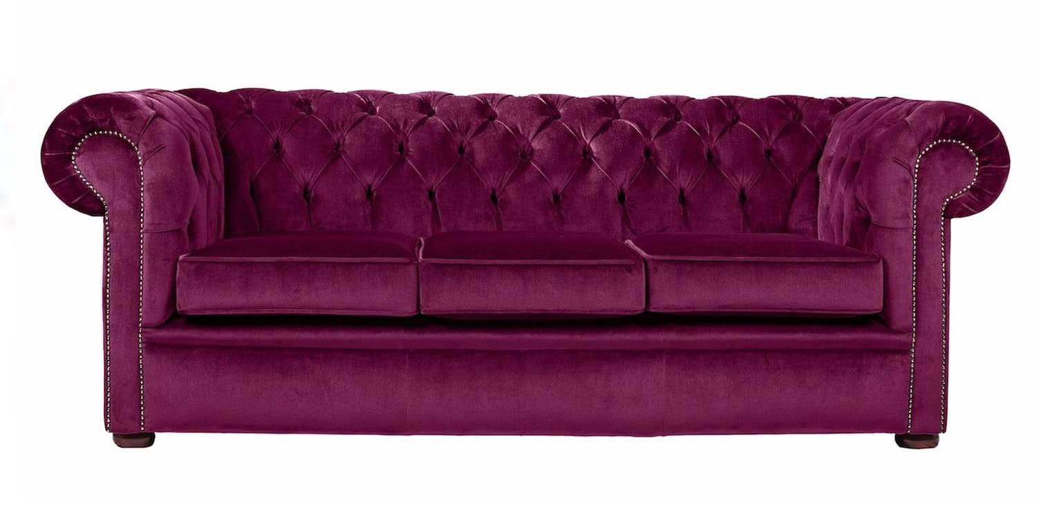 Featured Photo of Purple Chesterfield Sofas