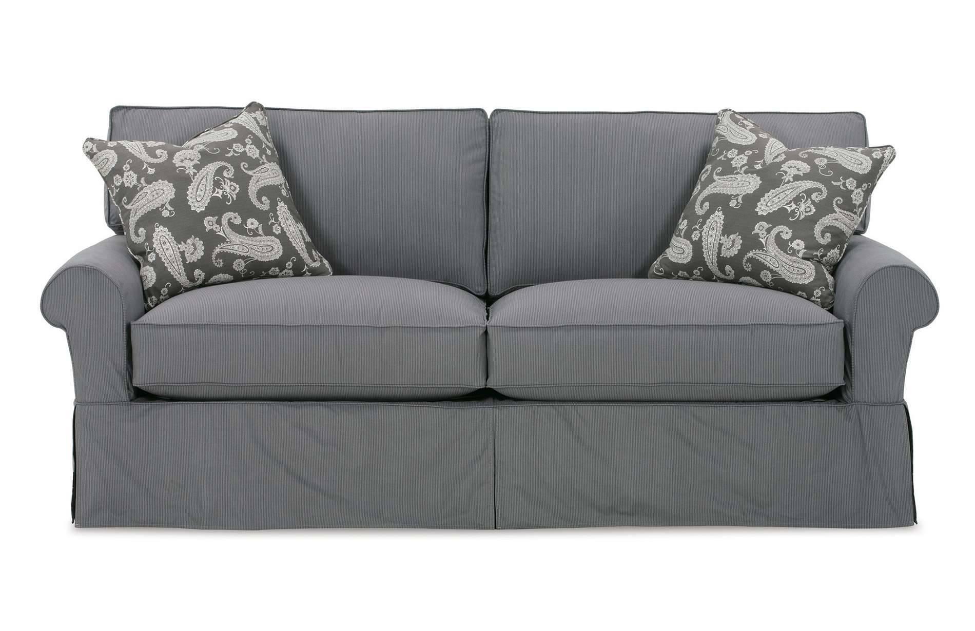 Queen Size Sleeper Sofa Cover | Centerfieldbar inside Sleeper Sofa Slipcovers (Image 9 of 15)