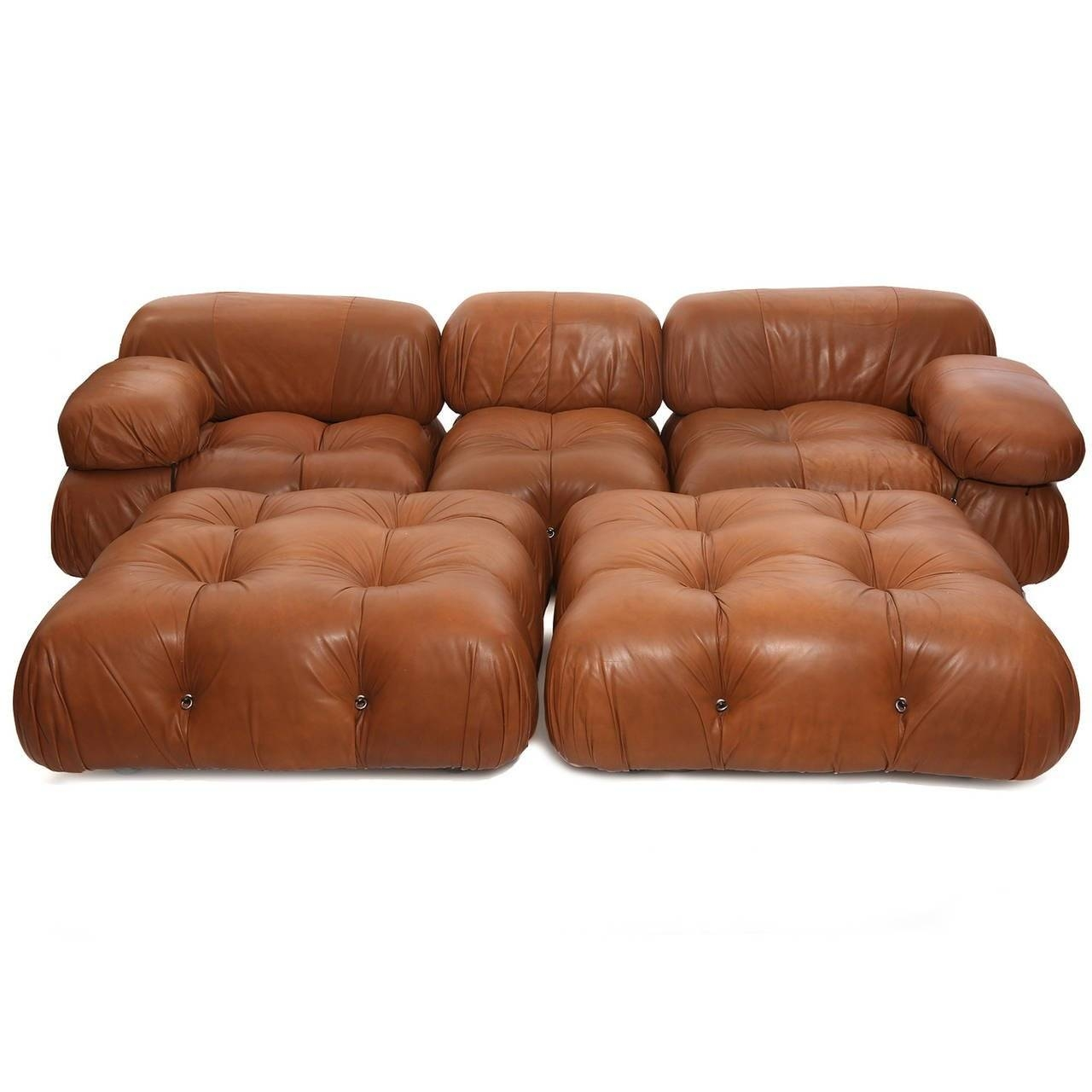 Rare Mario Bellini Camaleonda Sofa And Ottomans At 1Stdibs intended for Bellini Sofas (Image 13 of 15)