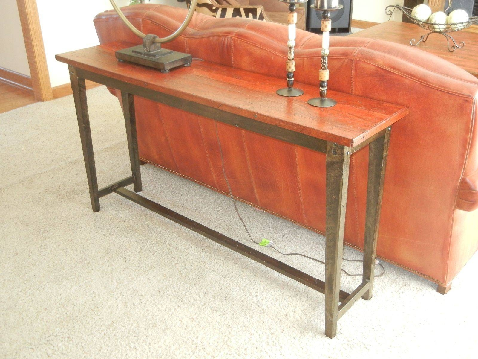 Reclaimed Wood Console Tables And Sofa Tables | Barnwood Console with regard to Barnwood Sofa Tables (Image 9 of 15)
