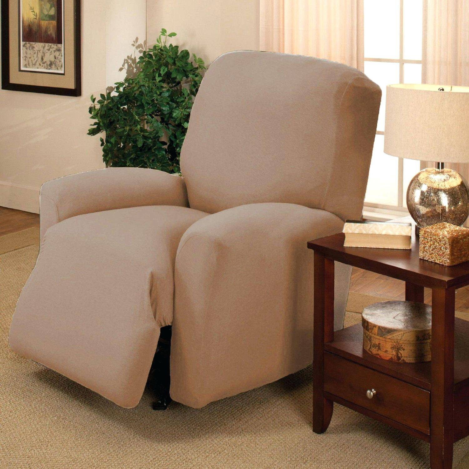 Recliner Arm Slipcovers 77 Stupendous Stunning Sofa Armchair intended for Slipcover For Reclining Sofas (Image 5 of 15)