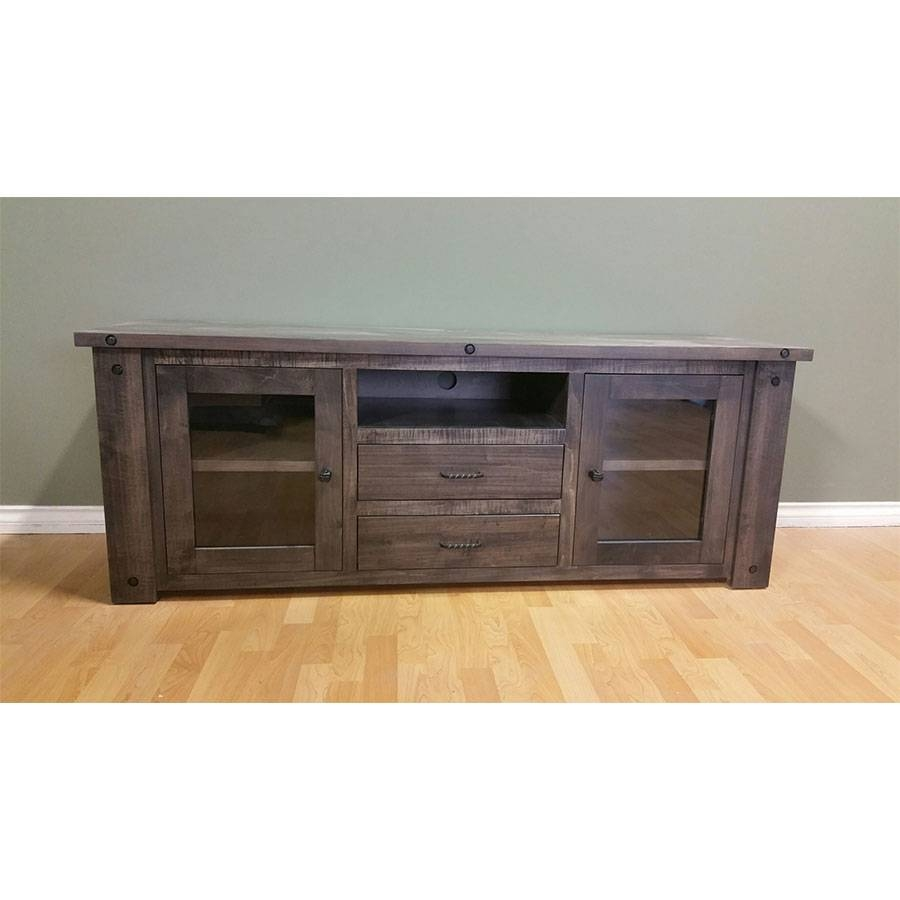 Red River Collection Solid Wood Tv Stands – Furniture | Mattress Within Red Tv Stands (View 6 of 15)