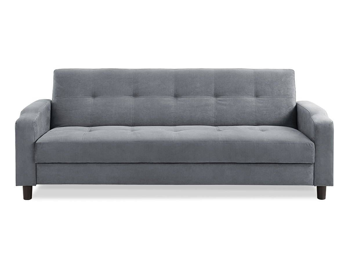 Reno Convertible Sofa Dark Greyserta / Lifestyle intended for Convertible Queen Sofas (Image 8 of 15)