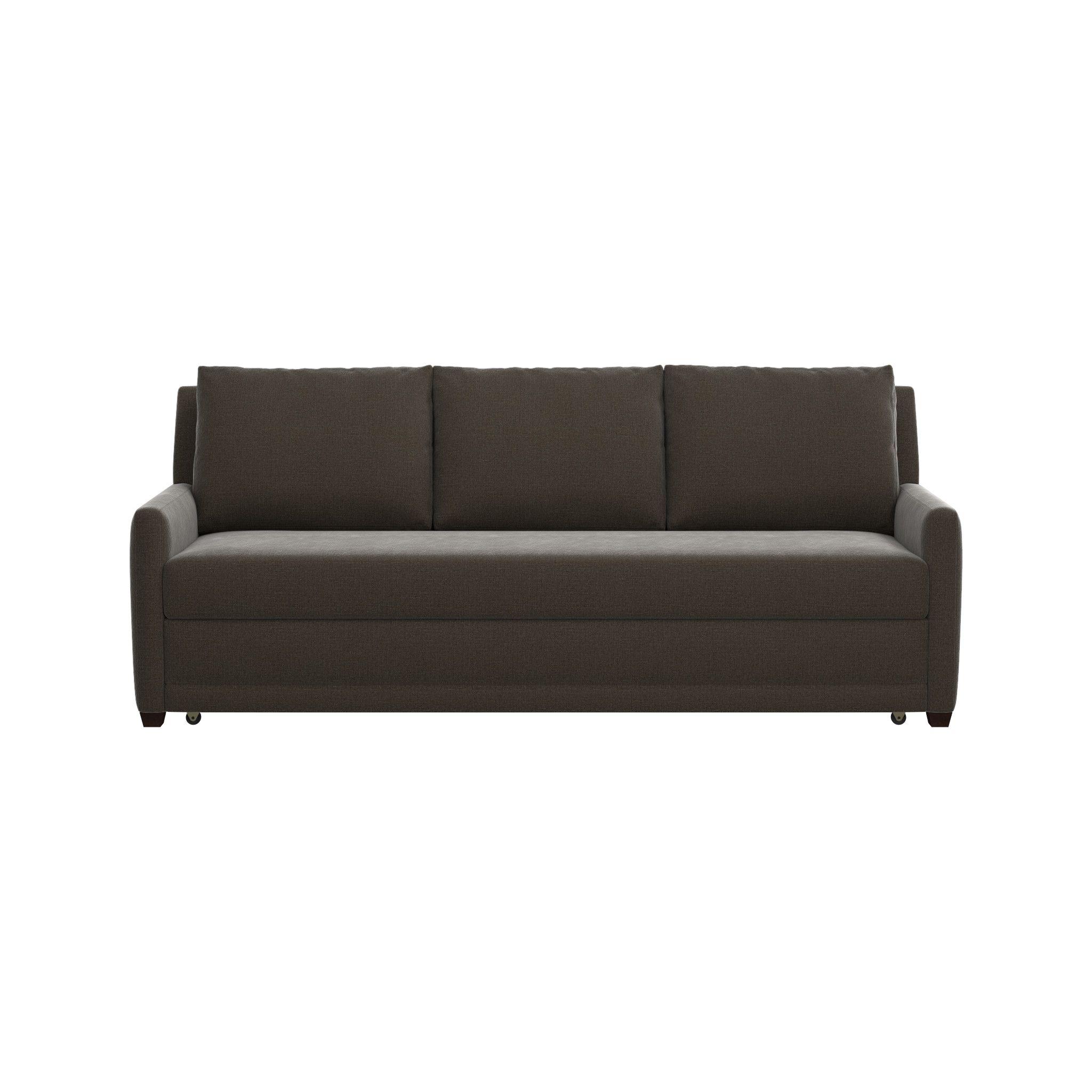 Reston Queen Sleeper Sofa | Crate And Barrel for Crate And Barrel Sleeper Sofas (Image 11 of 15)