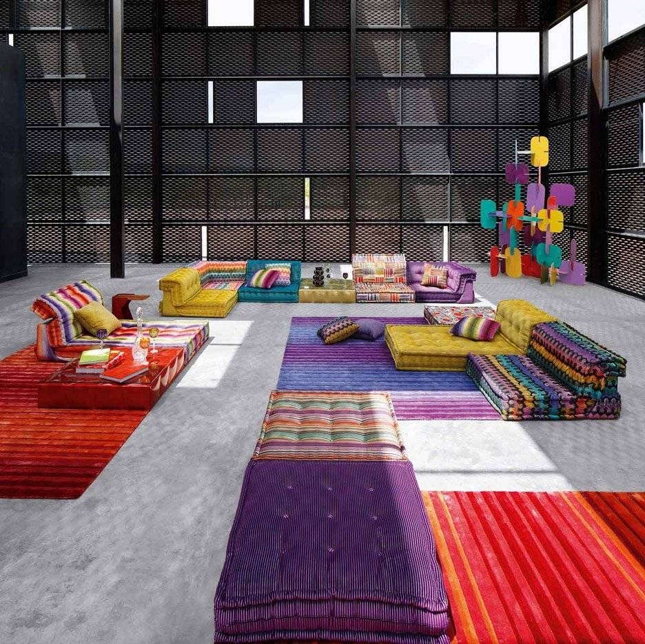 Roche Bobois' Mah Jong Sofa In New Movie And Recreated For Charity with Roche Bobois Mah Jong Sofas (Image 12 of 15)