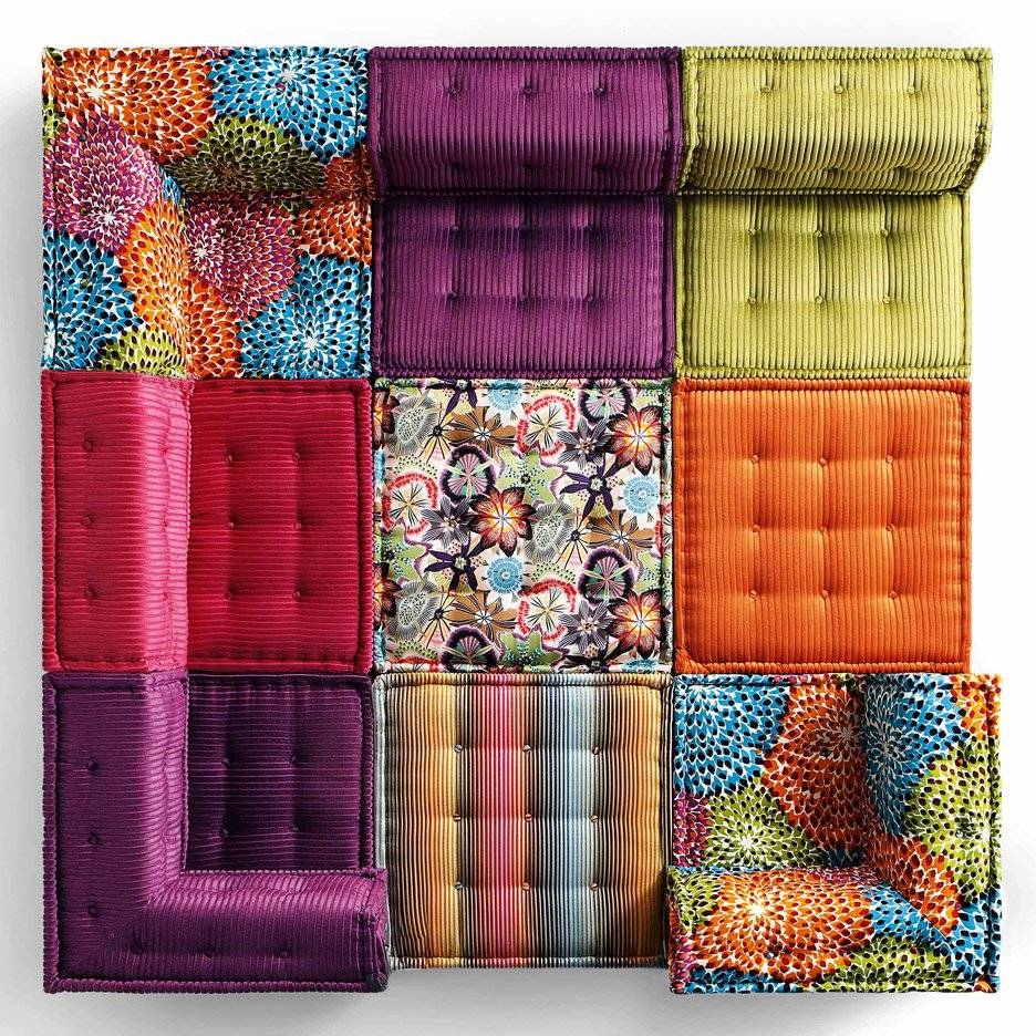 Roche Bobois' Mah Jong Sofa In New Movie And Recreated For Charity Within Mahjong Sofas (View 14 of 15)