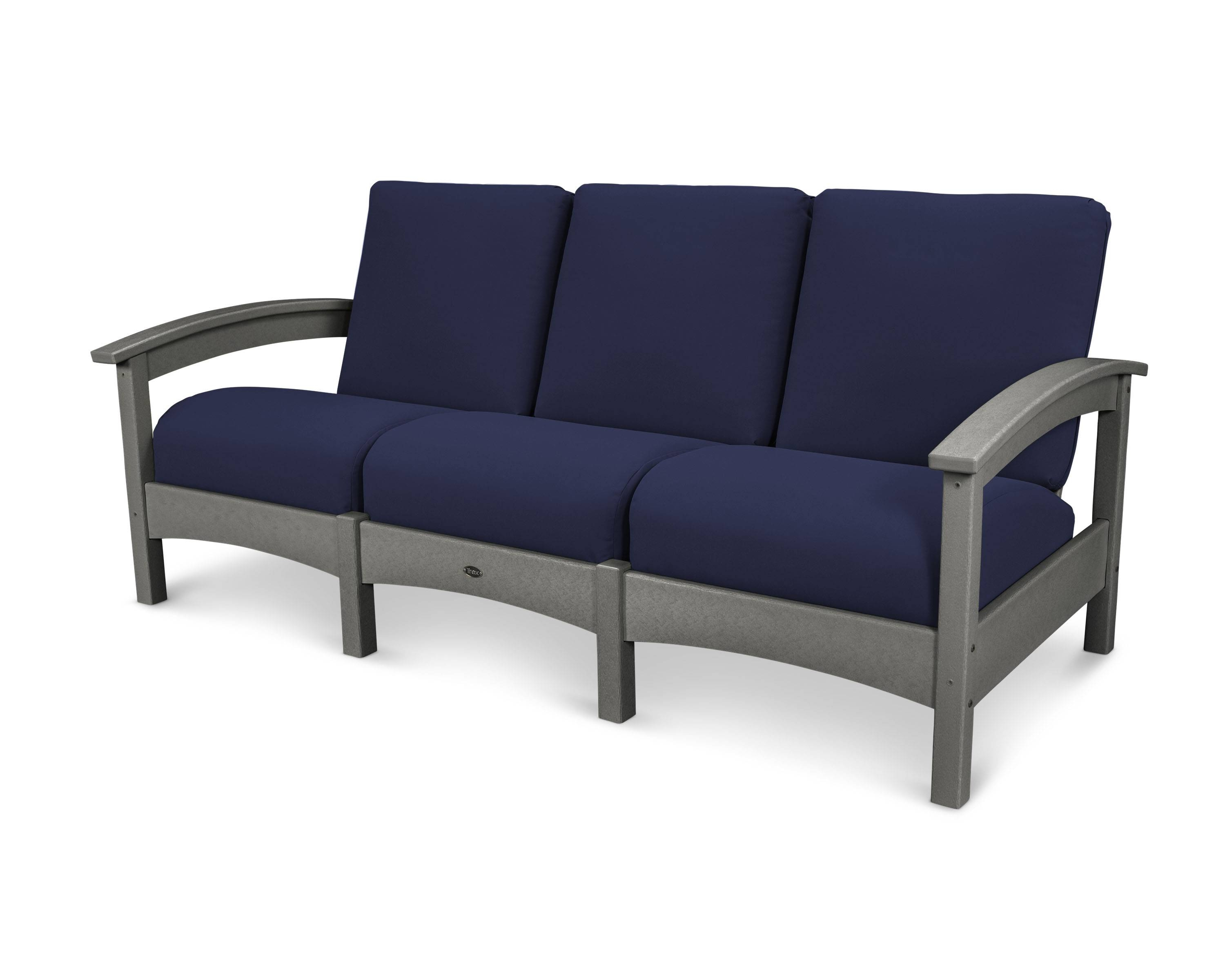 Rockport Club Sofa | Trex® Outdoor Furniture™ regarding Bench Style Sofas (Image 7 of 15)