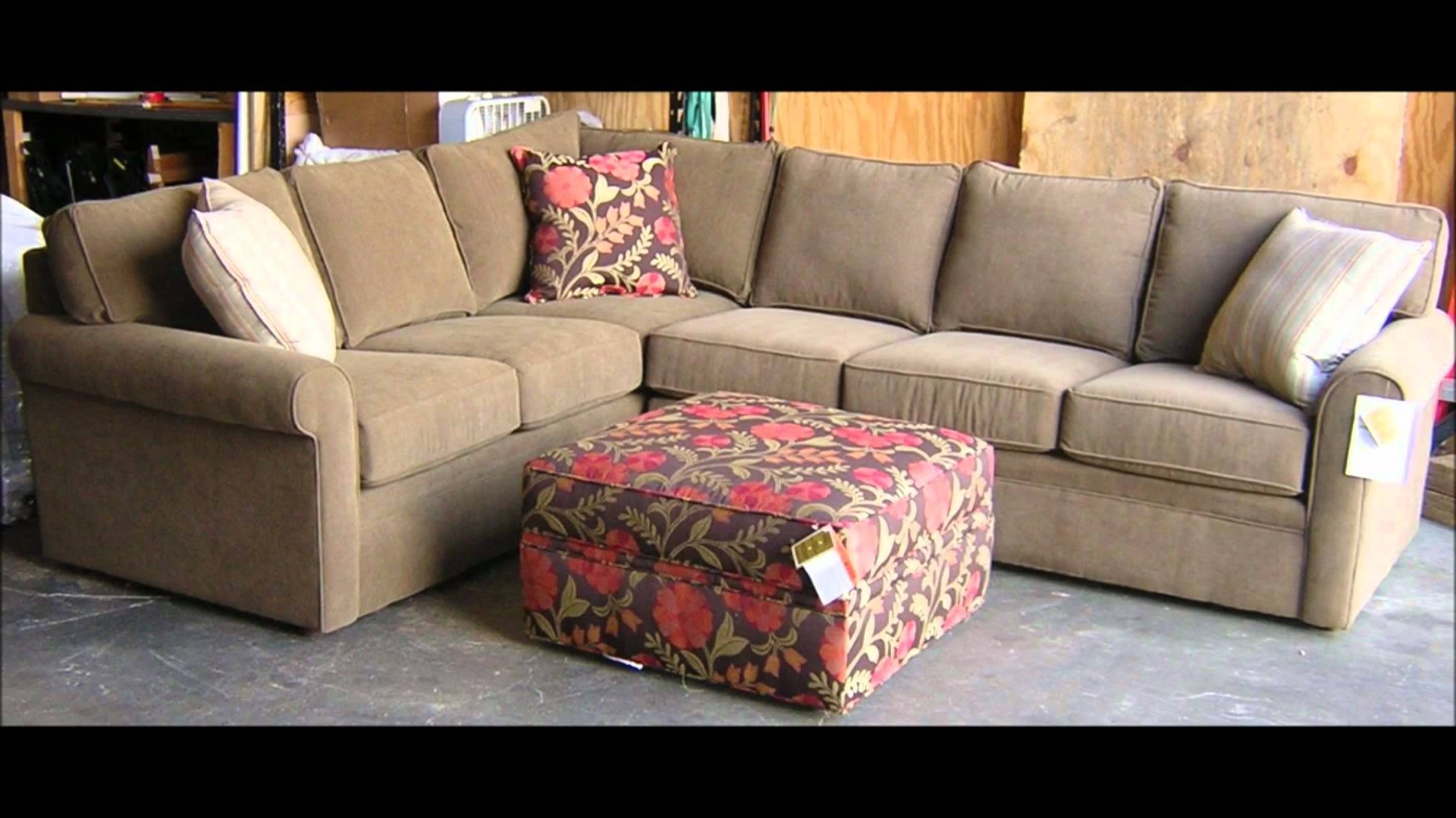 Perfect Rowe Furniture Brentwood Sectional Sofa I Barnett Furniture Intended For Rowe  Sectional Sofas (Image 10