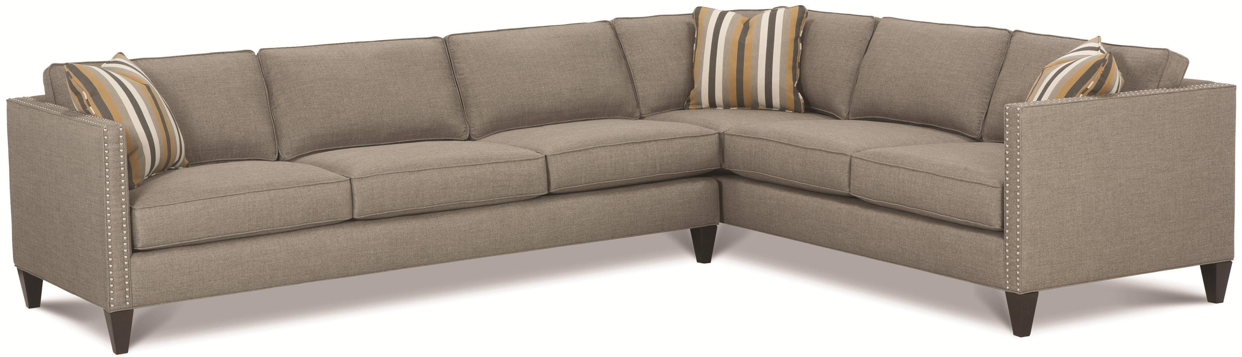 Rowe Sectional Sofas Rowe Mitc Rxo B Customizable Contemporary With Regard  To Rowe Sectional Sofas (