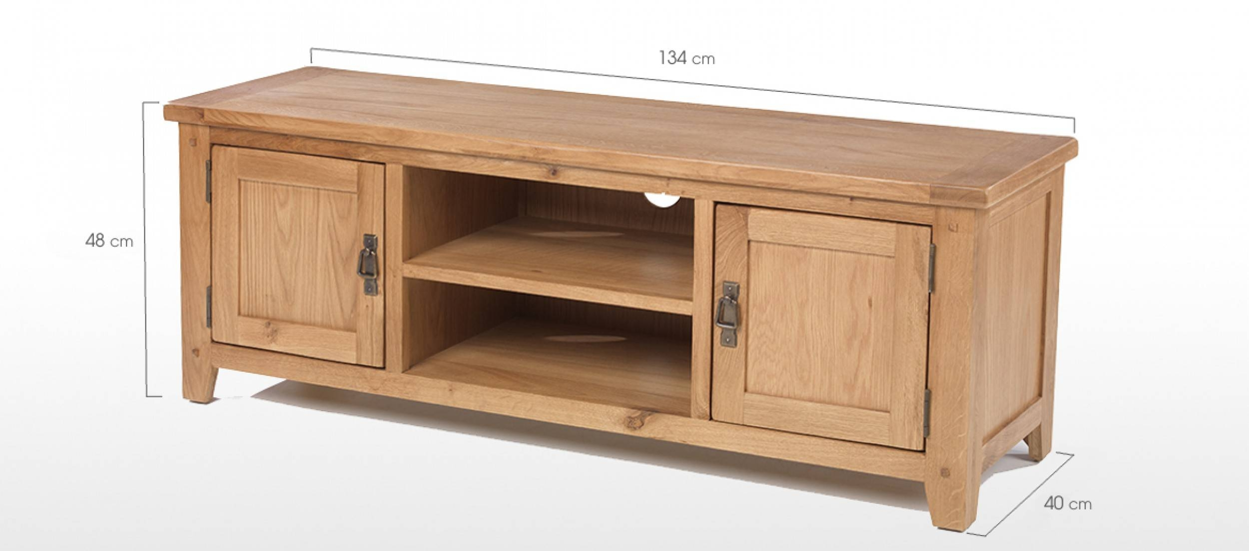 Top 15 Of Solid Oak Tv Cabinets