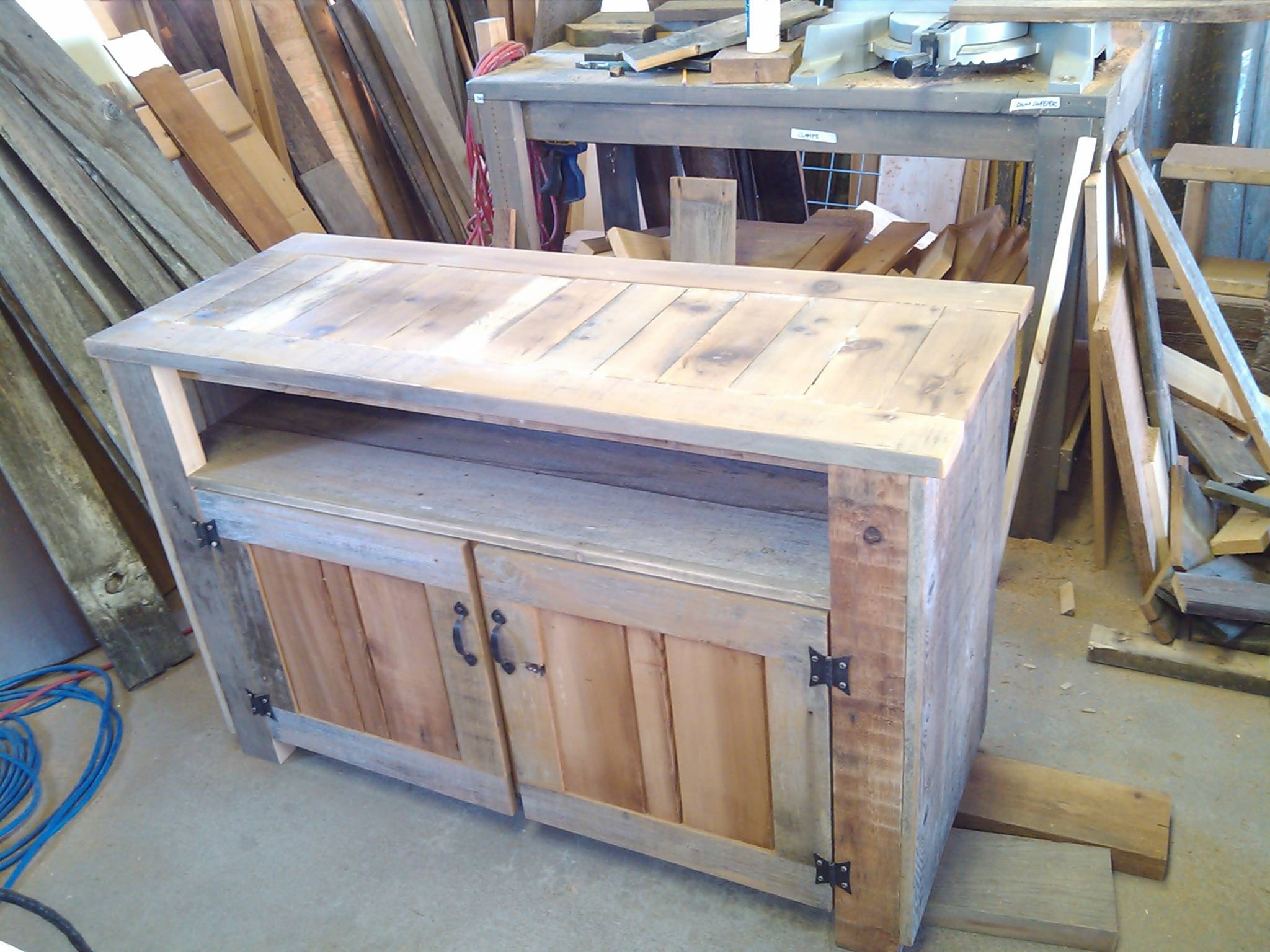 Rustic Tv Stand Or Cabinet | Dream Garden Woodworks Throughout Cheap Rustic Tv Stands (View 10 of 15)