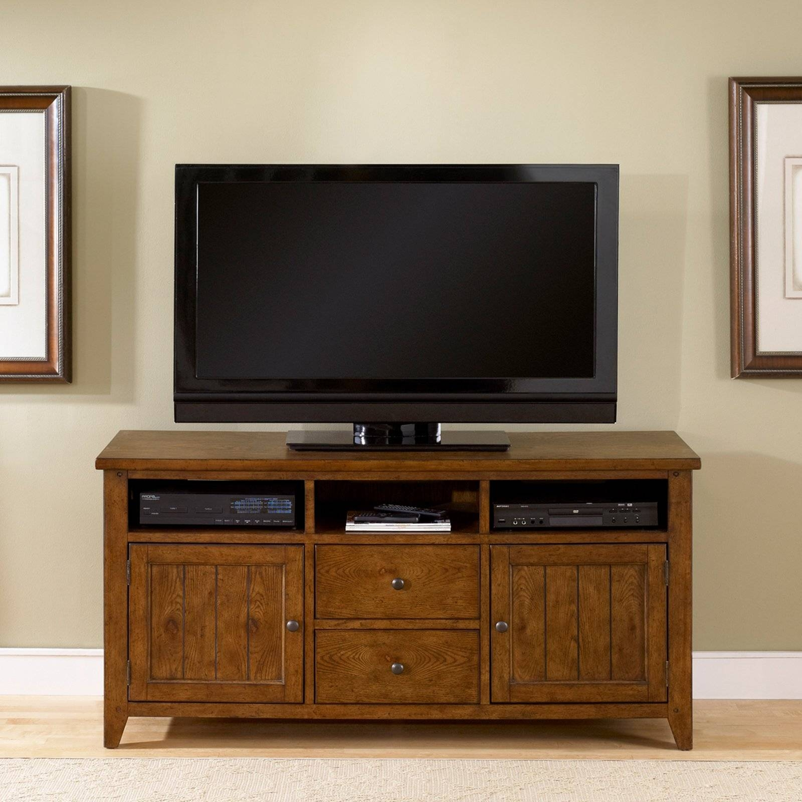 Rustic Tv Stands For Flat Screens — Wedgelog Design Regarding Unique Tv Stands For Flat Screens (View 3 of 15)
