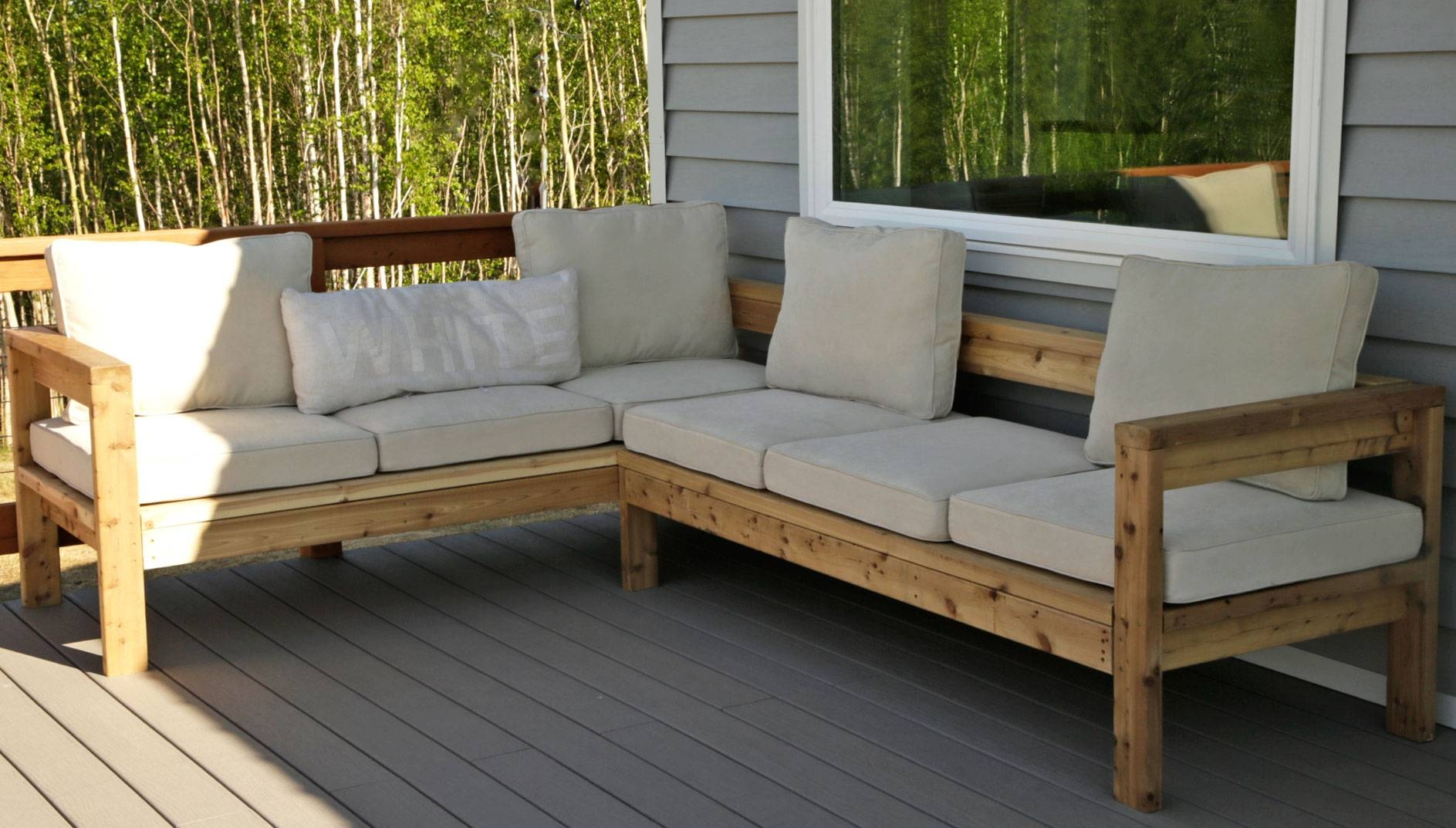 Ryobi Nation regarding Ana White Outdoor Sectional Sofas (Image 15 of 15)