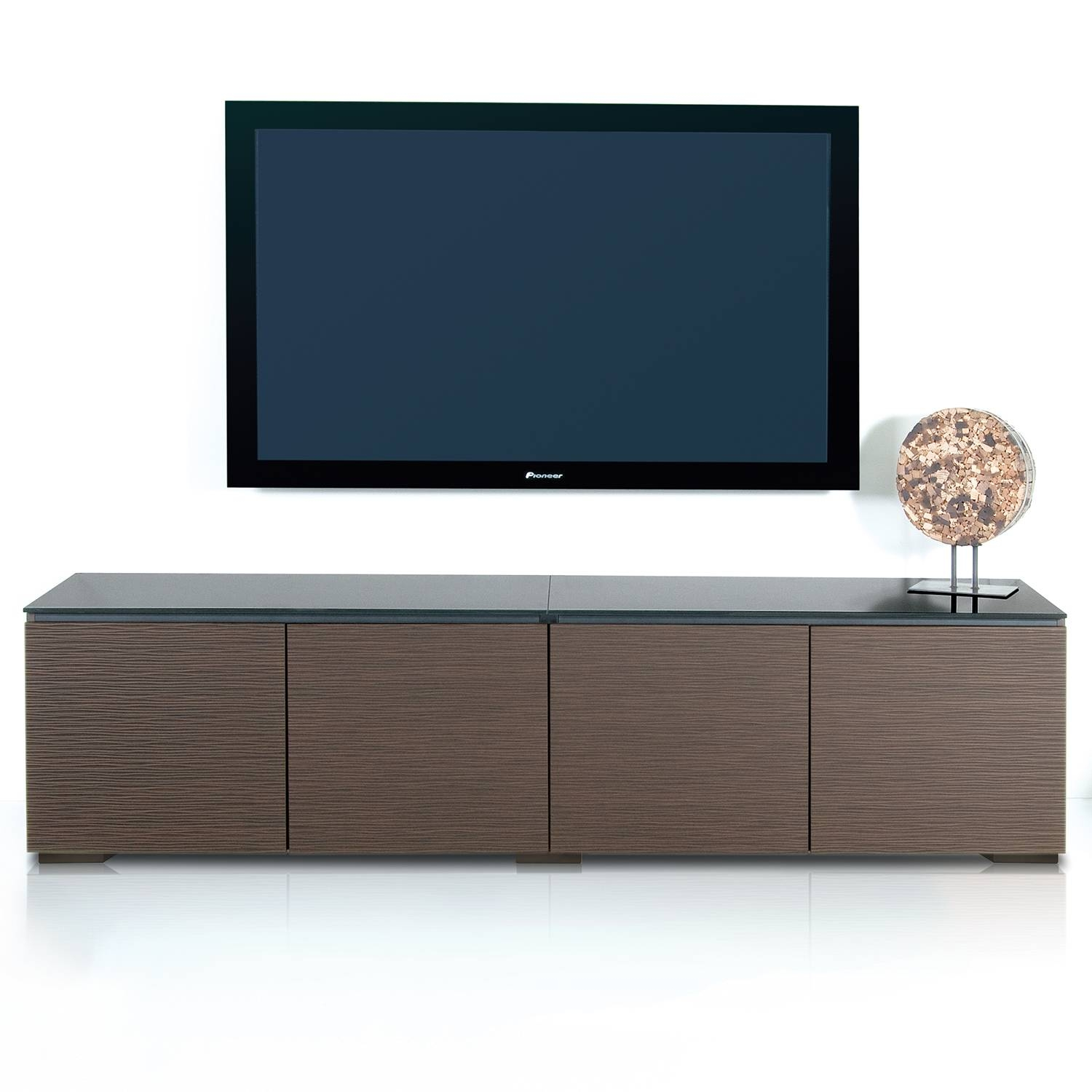 "Salamander Designs C/bl247/we Berlin 247 85"" Tv Stand Cabinet In with regard to Wenge Tv Cabinets (Image 6 of 15)"