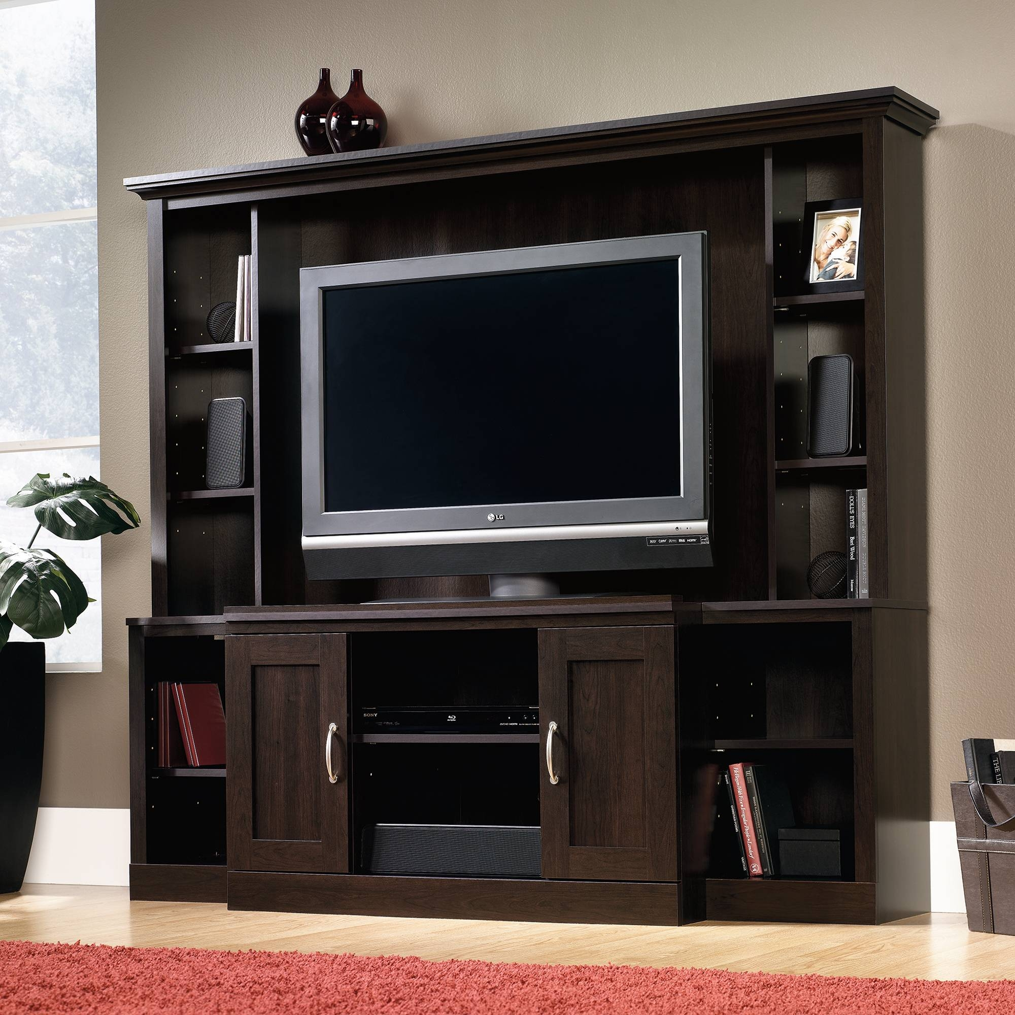 Sauder Select | Entertainment Center | 403932 | Sauder throughout Entertainment Center Tv Stands (Image 6 of 15)