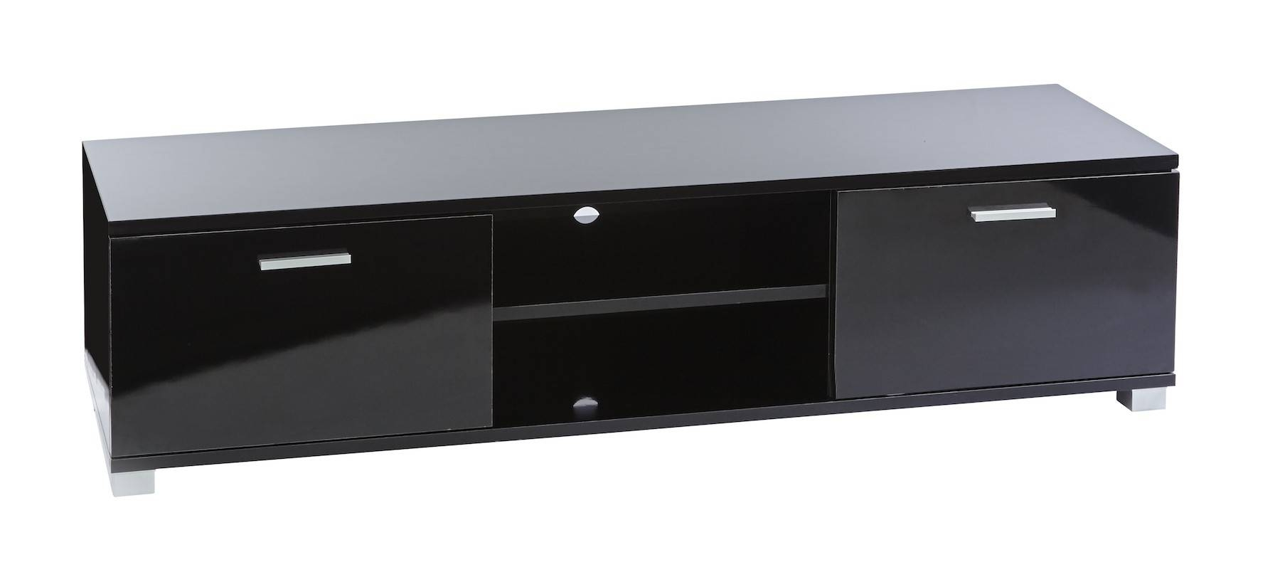 Sd Ht01 Black Gloss Tv Cabinet For Up To 60 Inch Lcd Led Screens Within Black Gloss Tv Cabinet (View 6 of 15)