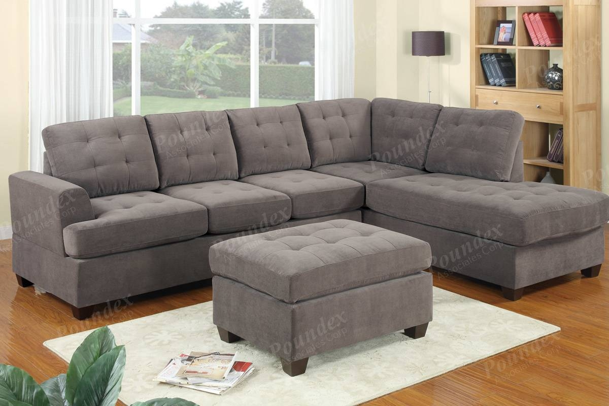 Sectional | Sectional Sofa | Bobkona Furniture | Showroom pertaining to Poundex Sofas (Image 15 of 15)