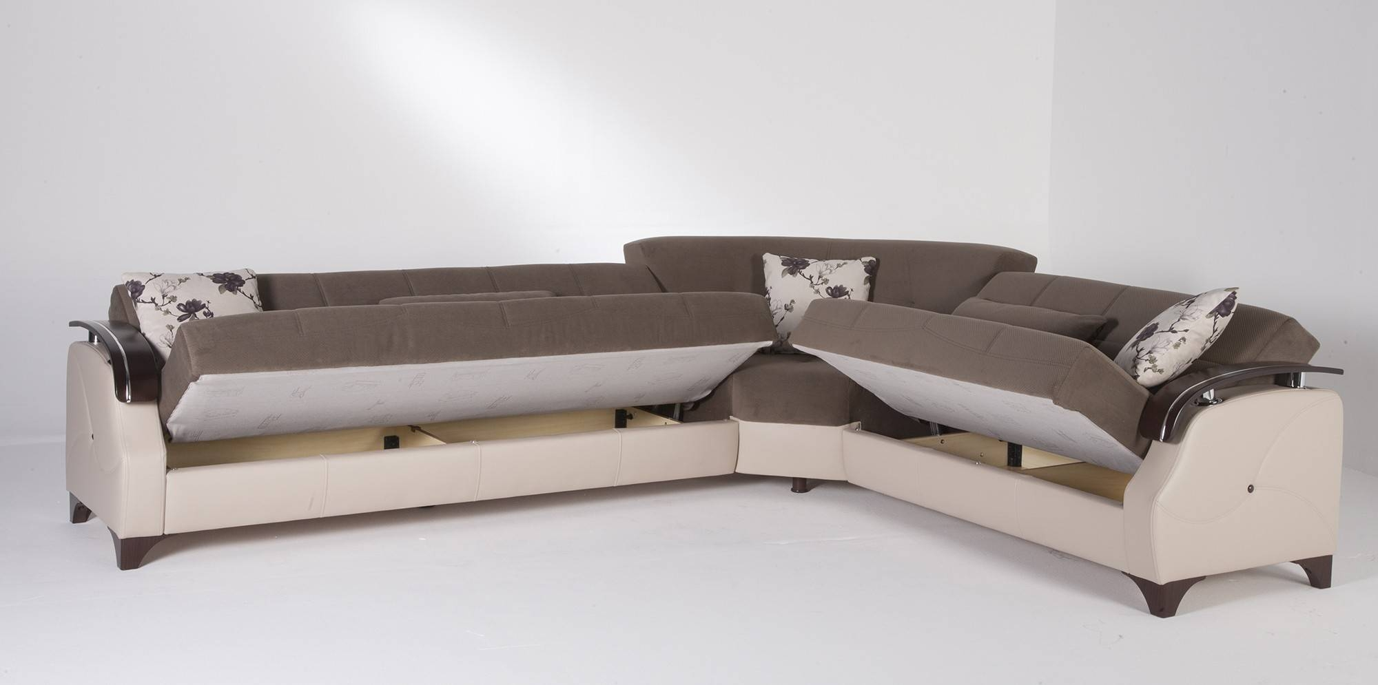 Sectional Sleeper Sofas | Roselawnlutheran regarding Queen Convertible Sofas (Image 10 of 15)