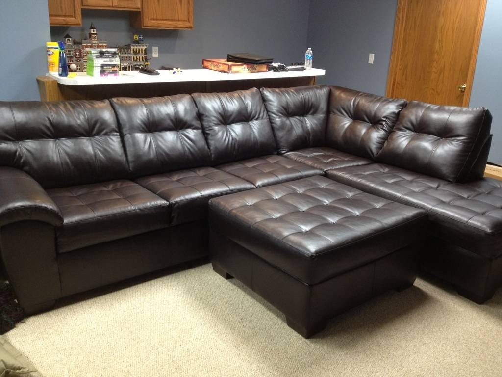 Sectional Sofa Design : Sectional Sofas Big Lots Large Square Dark for Big Lots Couches (Image 14 of 15)