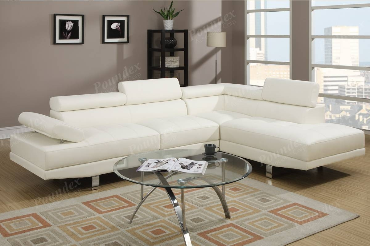 Sectional Sofa Set | Sectional Sofa | Living Room Furniture within Poundex Sofas (Image 12 of 15)