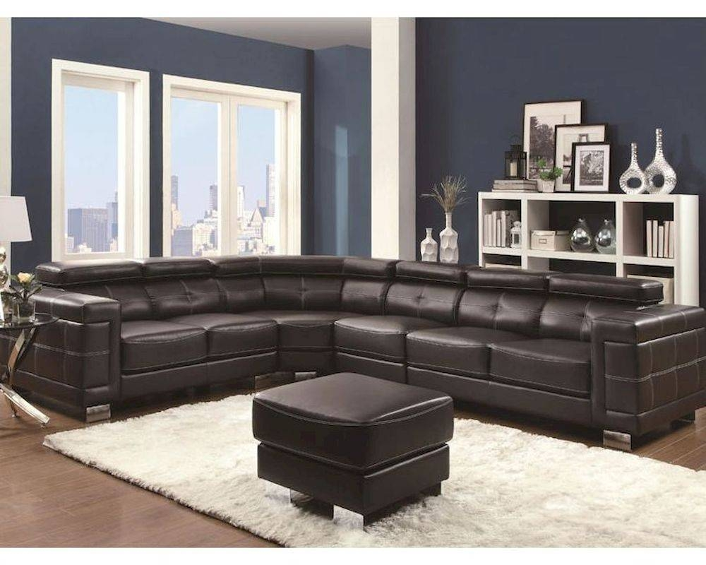 Sectional Sofa W/ Adjustable Headrests Ralston Co-503625 with Coaster Sectional Sofas (Image 15 of 15)
