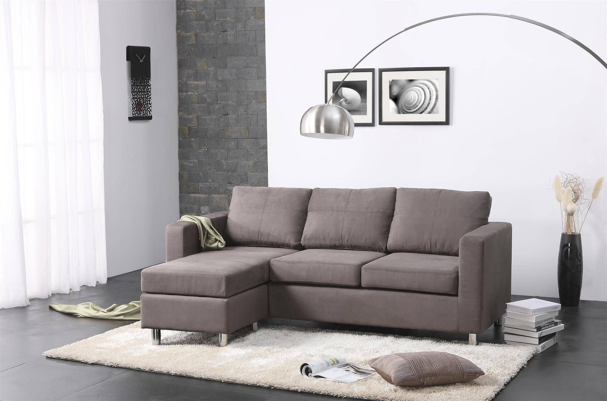 Sectional Sofas For Small Living Rooms – Cleanupflorida With Small Scale Sectional Sofas (View 10 of 15)