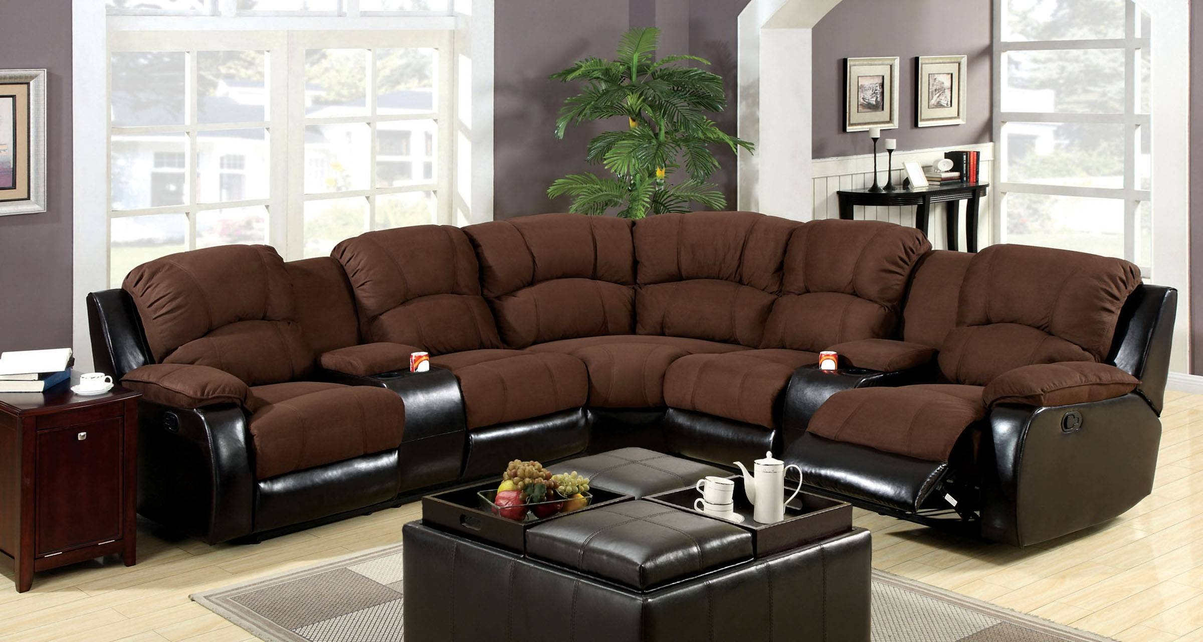 Sectional Sofas With Recliners And Cup Holders - Tourdecarroll with Sofas With Cup Holders (Image 15 of 15)