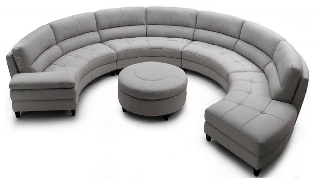 Semi Circle Couch Sofa | Centerfieldbar intended for Semi Sofas (Image 11 of 15)