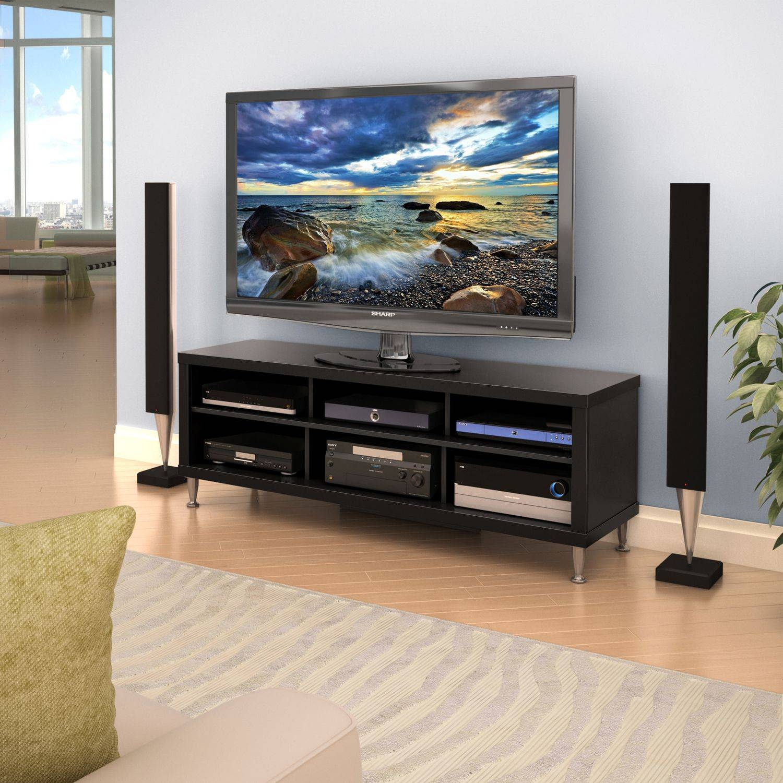 "Series 9 Designer 55"" Tv Stand | Walmart Canada Regarding Wooden Tv Stands For 55 Inch Flat Screen (View 15 of 15)"