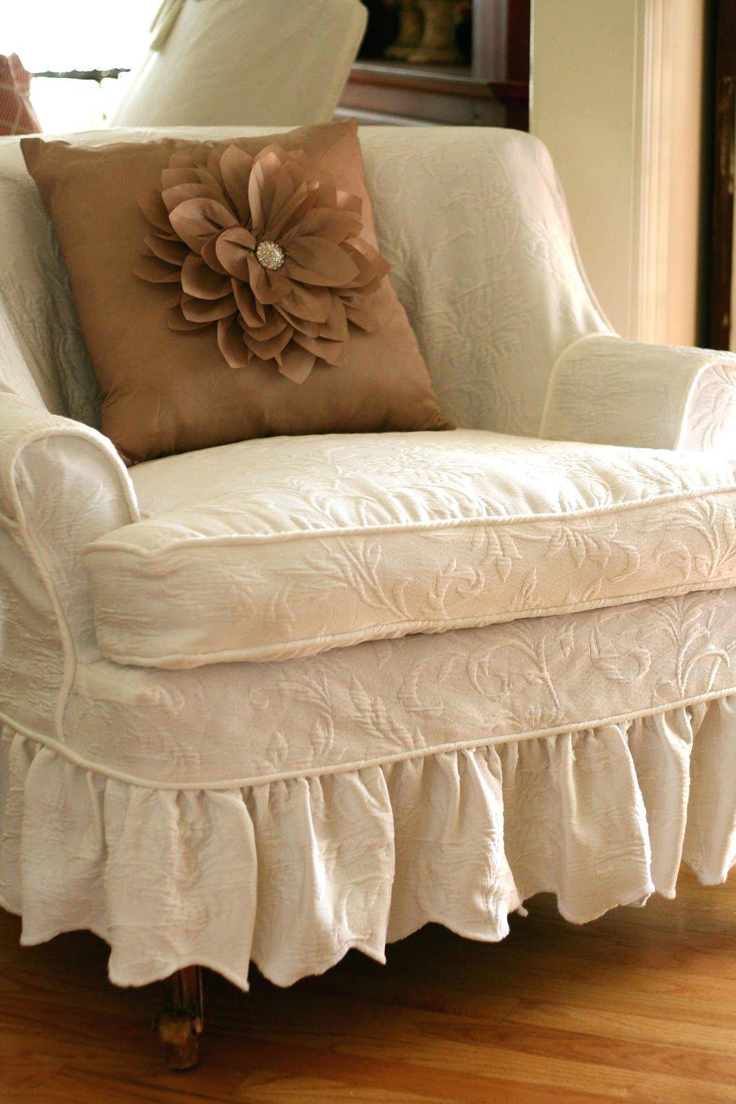 Shabby Chic Slipcovers For Wing Chairs Sale Target #2030 Gallery For Shabby Chic Sofa Slipcovers (View 8 of 15)