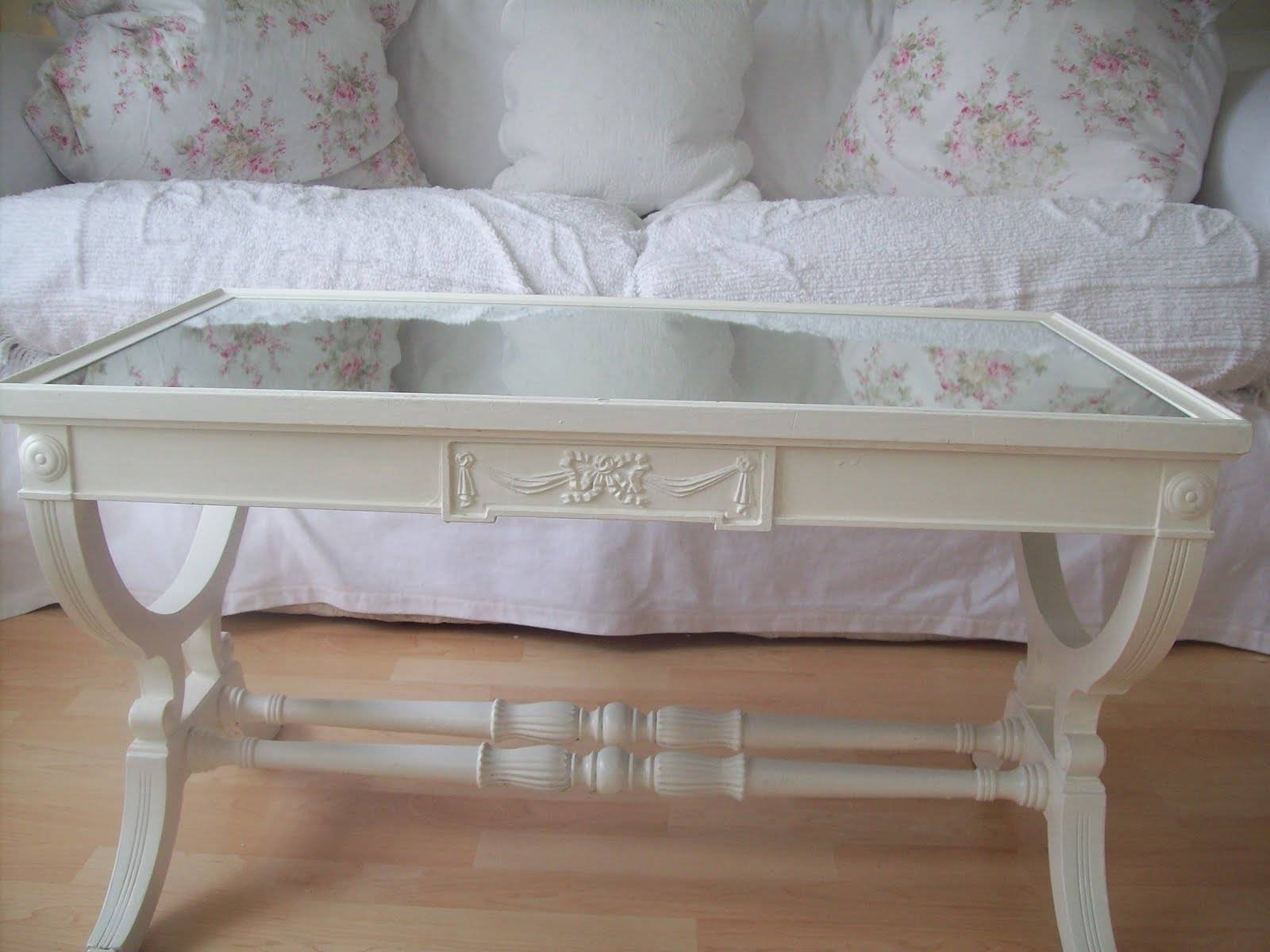 Shabby Chic White Sofa Table - Sofa Hpricot with Shabby Chic Sofa Tables (Image 14 of 15)