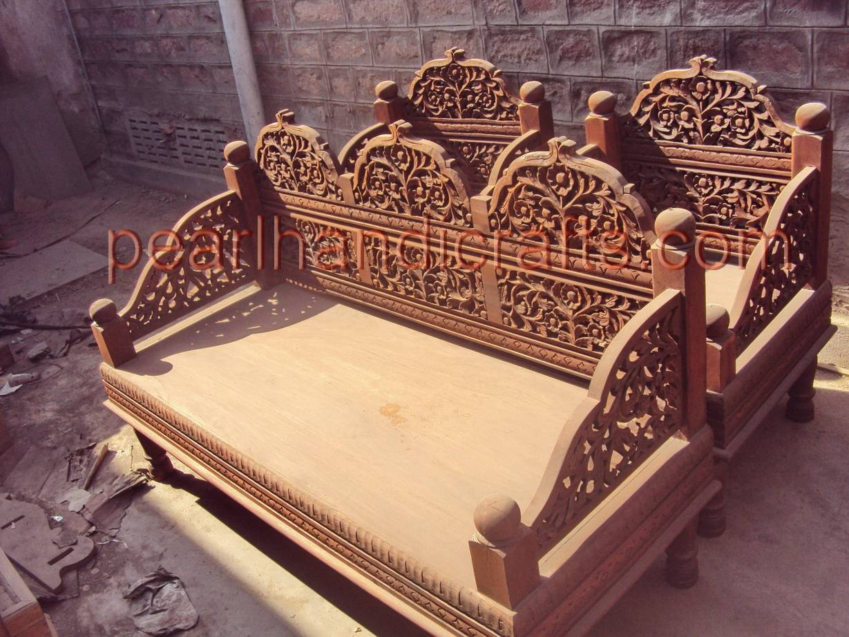 Amazing 2017 Best Of Carved Wood Sofas