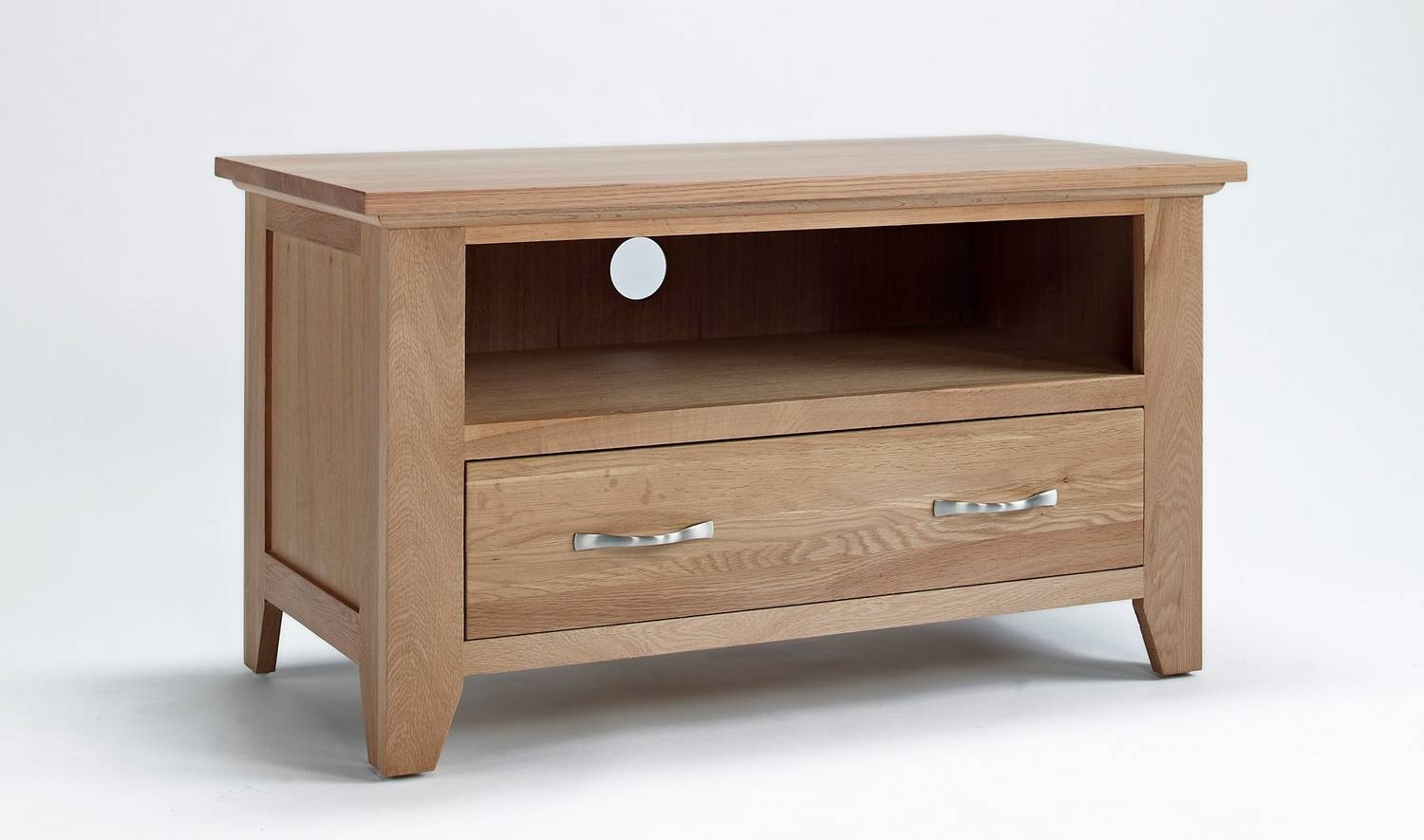 Sherwood Oak Small Tv Unit. Shop 50% Off Today! intended for Corner Wooden Tv Cabinets (Image 13 of 15)