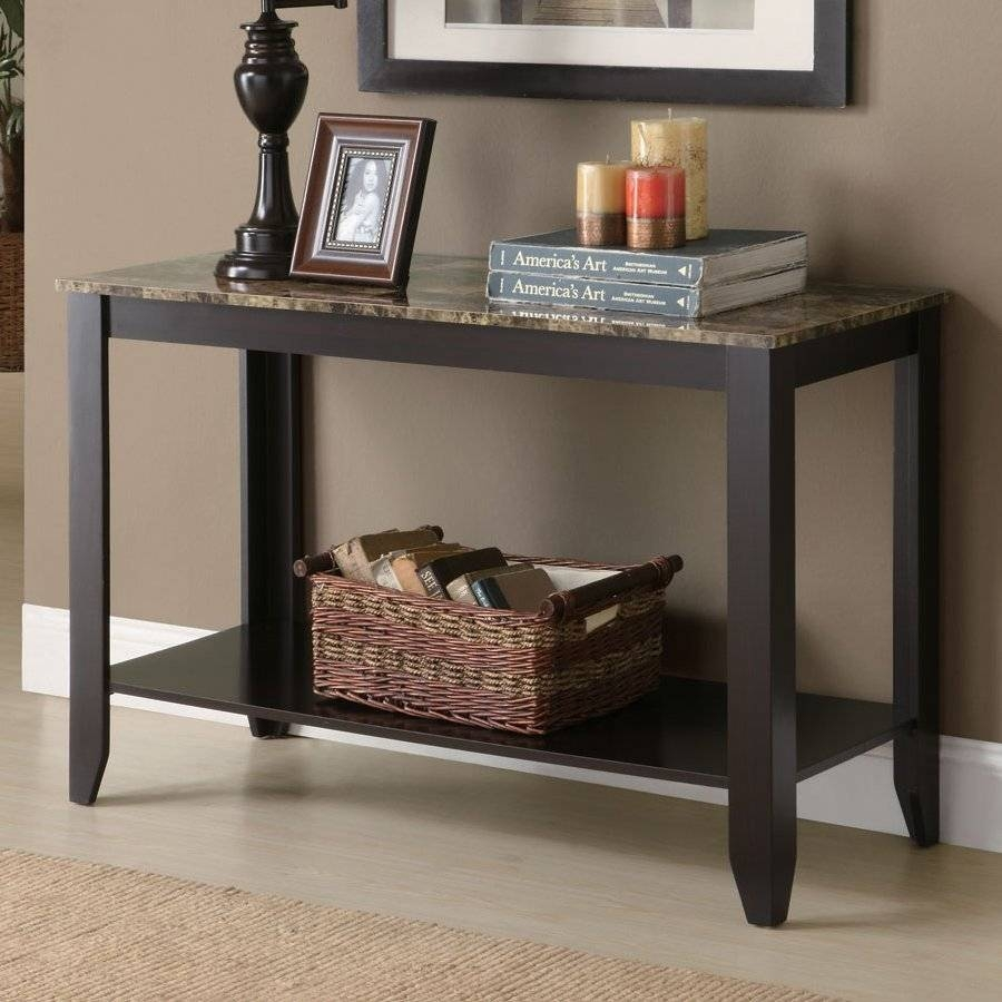 Shop Console Tables At Lowes with regard to Lowes Sofa Tables (Image 8 of 15)