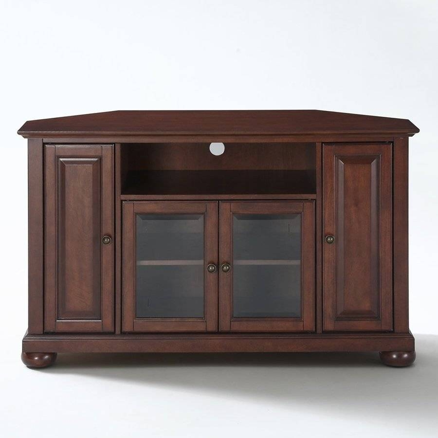 Shop Crosley Furniture Alexandria Vintage Mahogany Tv Stand At pertaining to Mahogany Tv Stands (Image 11 of 15)
