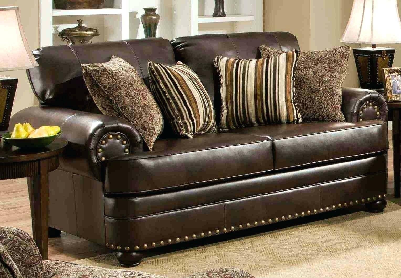 Simmons Bonded Leather Sofa Set • Leather Sofa pertaining to Simmons Leather Sofas (Image 5 of 15)