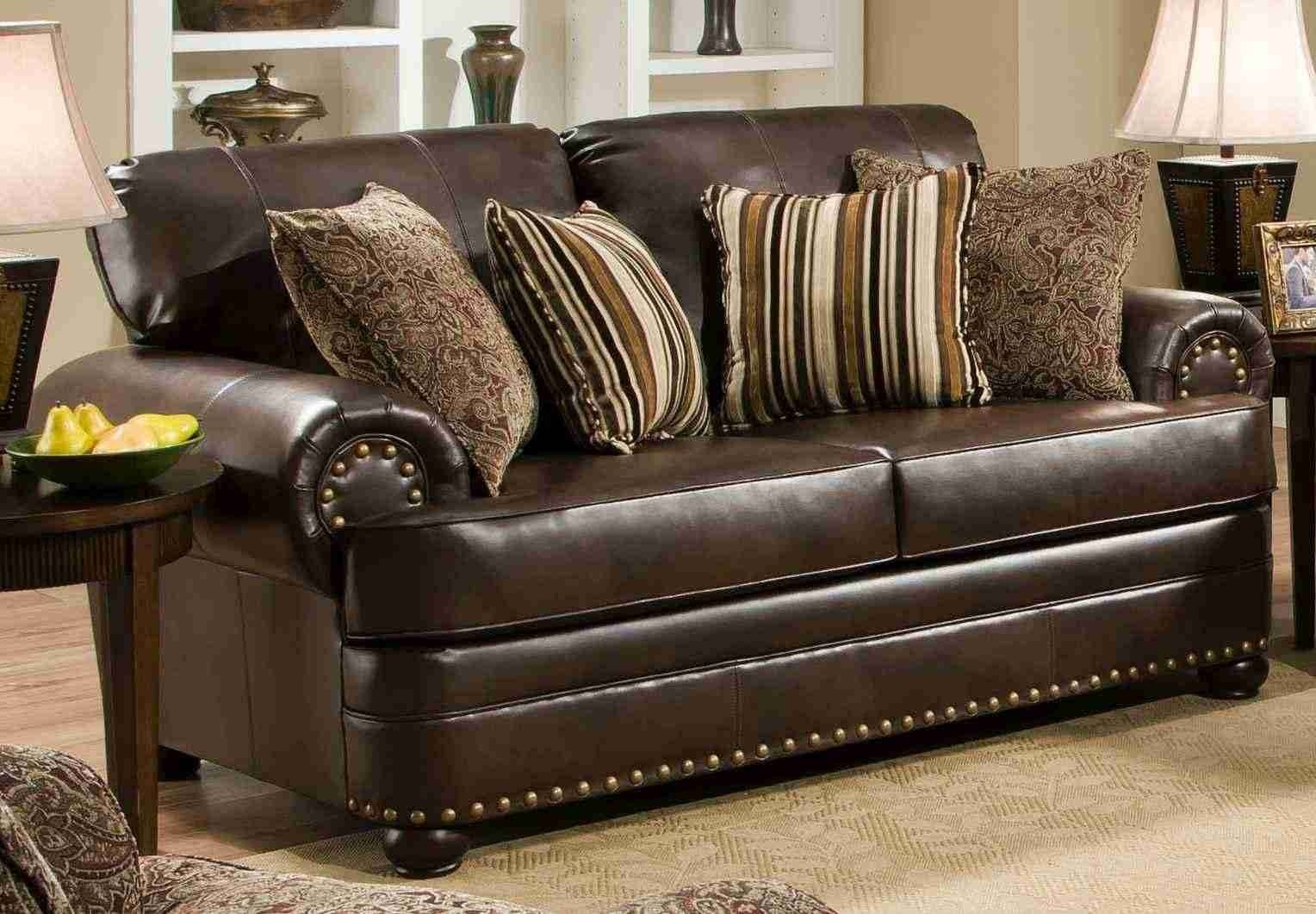 Simmons Leather Sofa Xpress Simmons Editor Bonded Leather Sofa in Simmons Bonded Leather Sofas (Image 12 of 15)