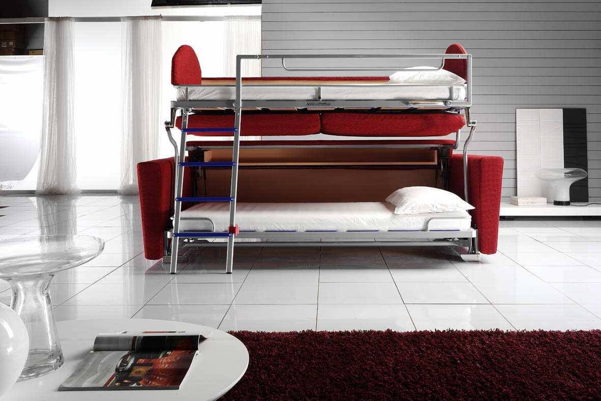 Simple Bunk Bed Couch — Mygreenatl Bunk Beds : Convert Bunk Bed Couch pertaining to Sofas Converts to Bunk Bed (Image 10 of 15)