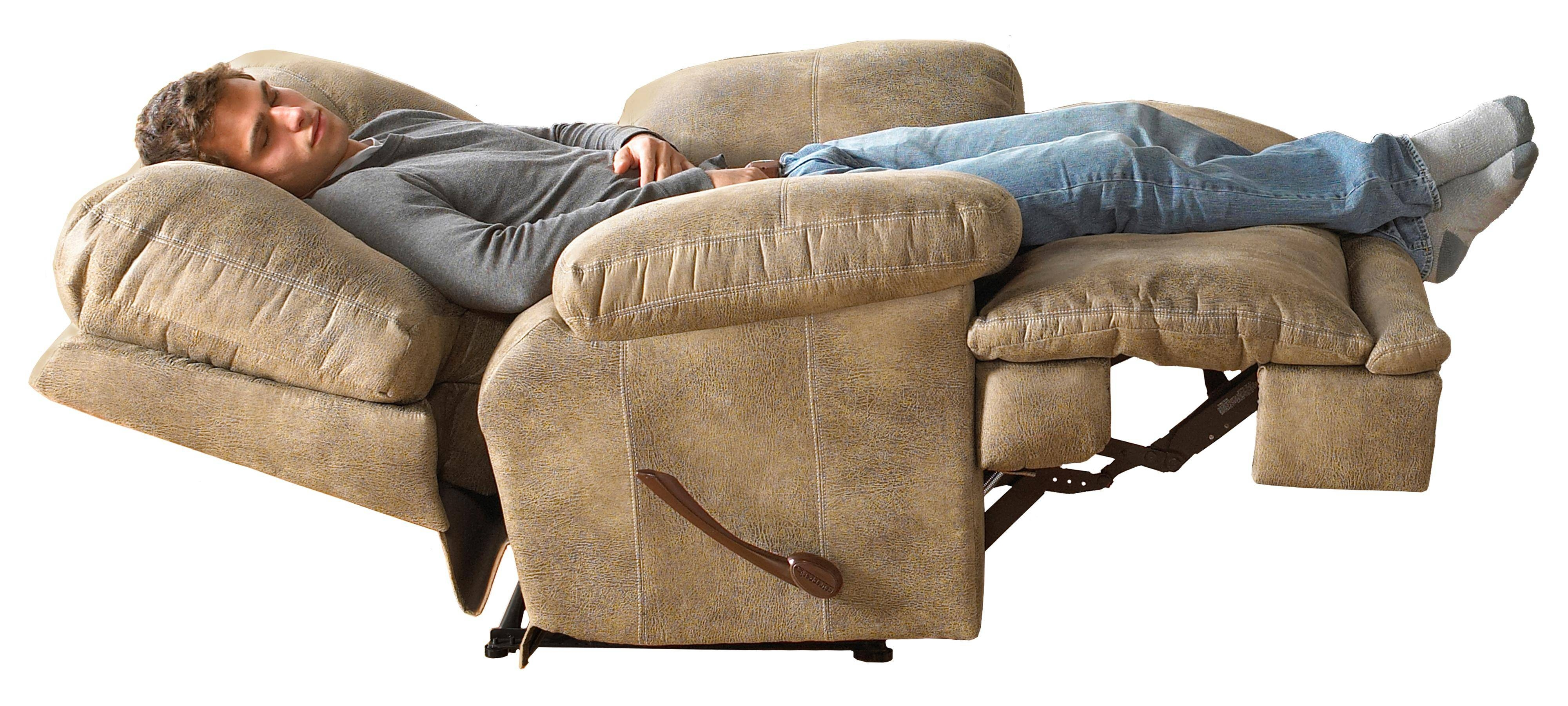 """Single Seat """"lay Flat"""" Reclinercatnapper 