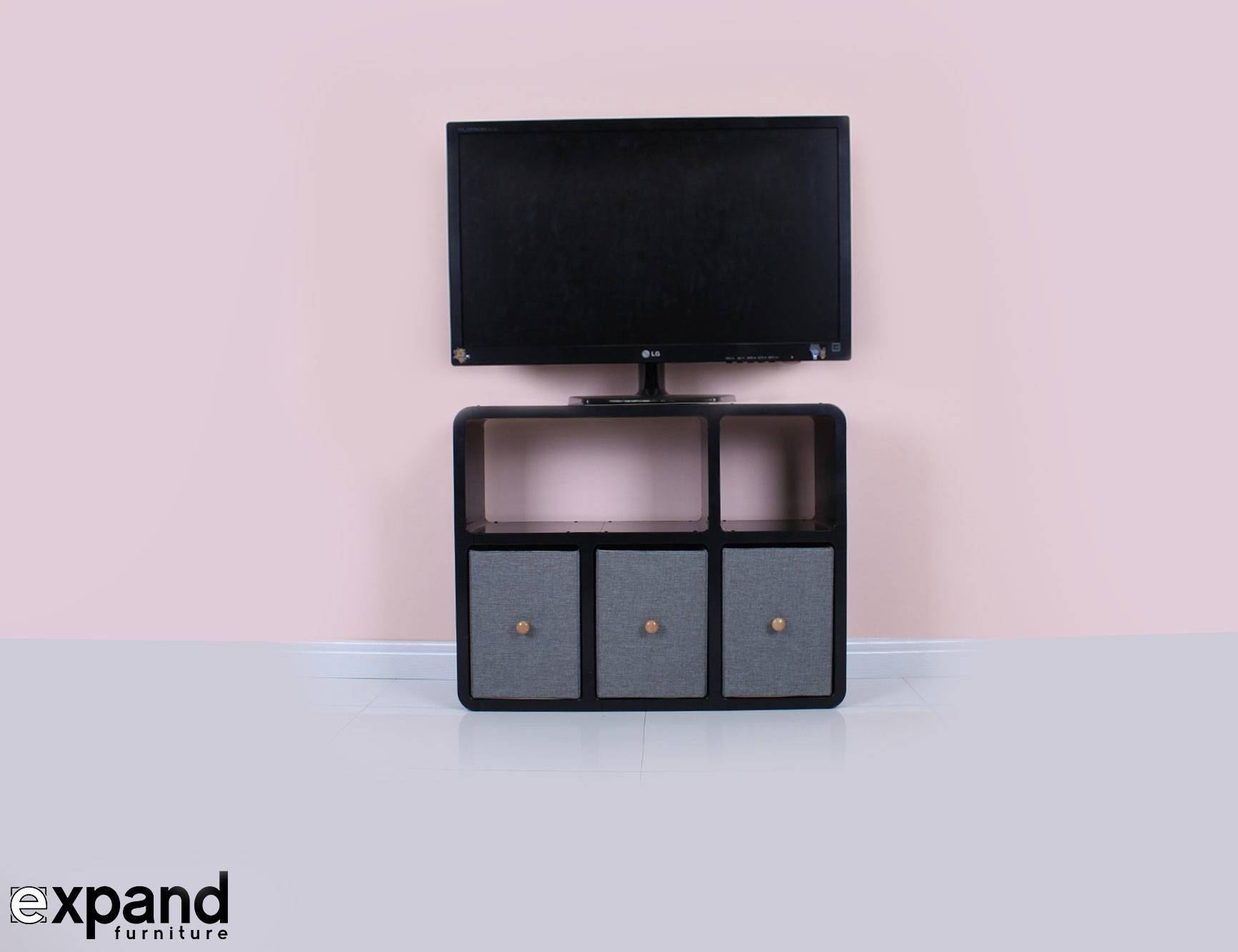 Slim Tv Stand 6 – Made For Modern Thin Tvs |Expand Intended For Slimline Tv Cabinets (View 8 of 15)