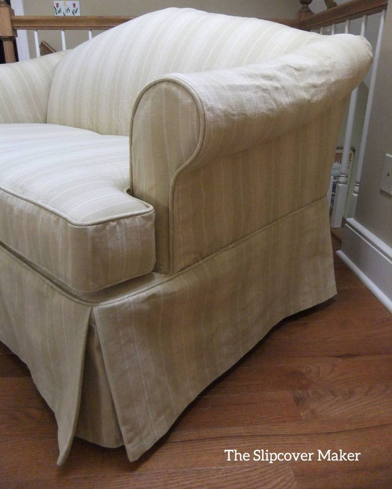 Slipcover Maker In Kalamazoo | The Slipcover Maker within Camelback Slipcovers (Image 15 of 15)
