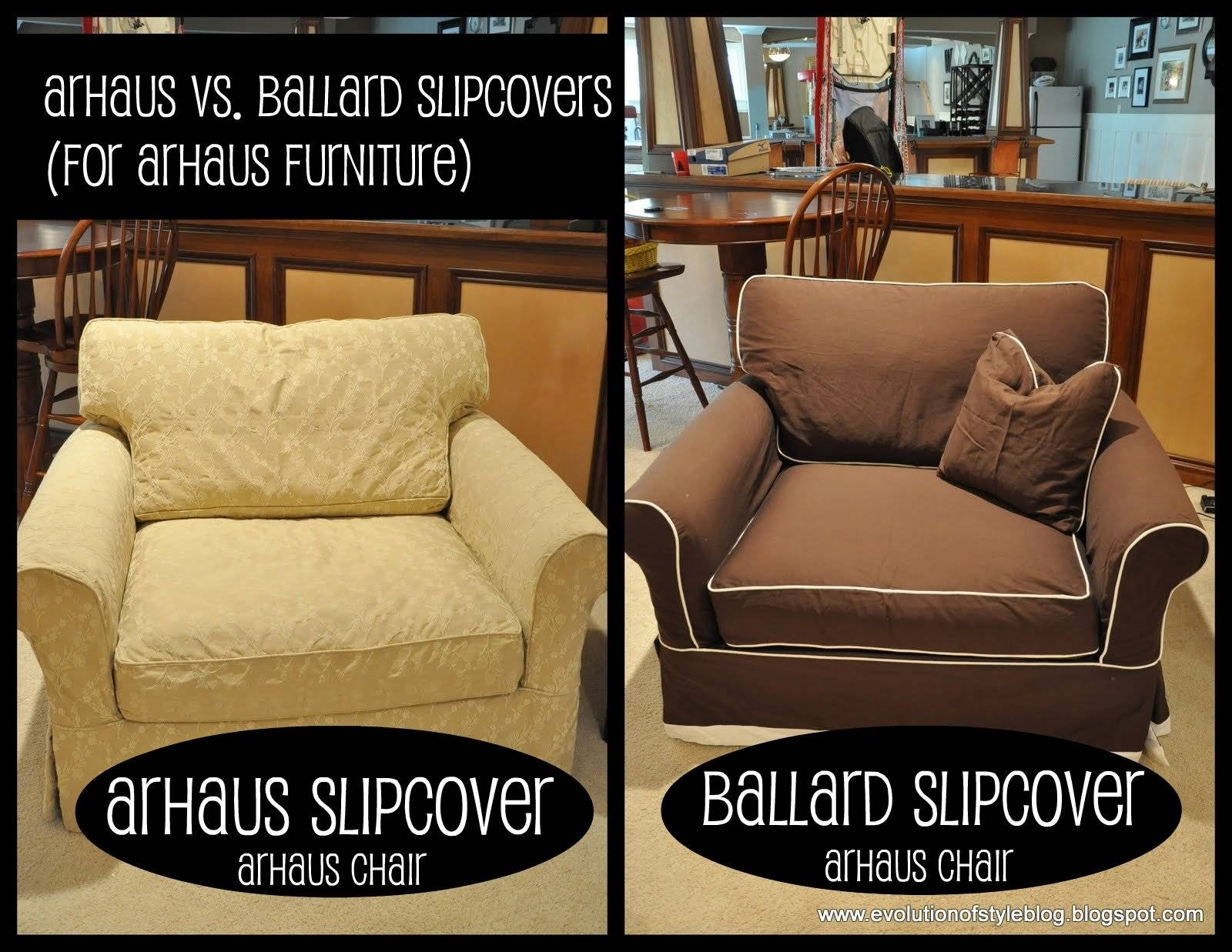 Slipcovers: Arhaus Vs. Ballard - Evolution Of Style inside Arhaus Slipcovers (Image 8 of 15)