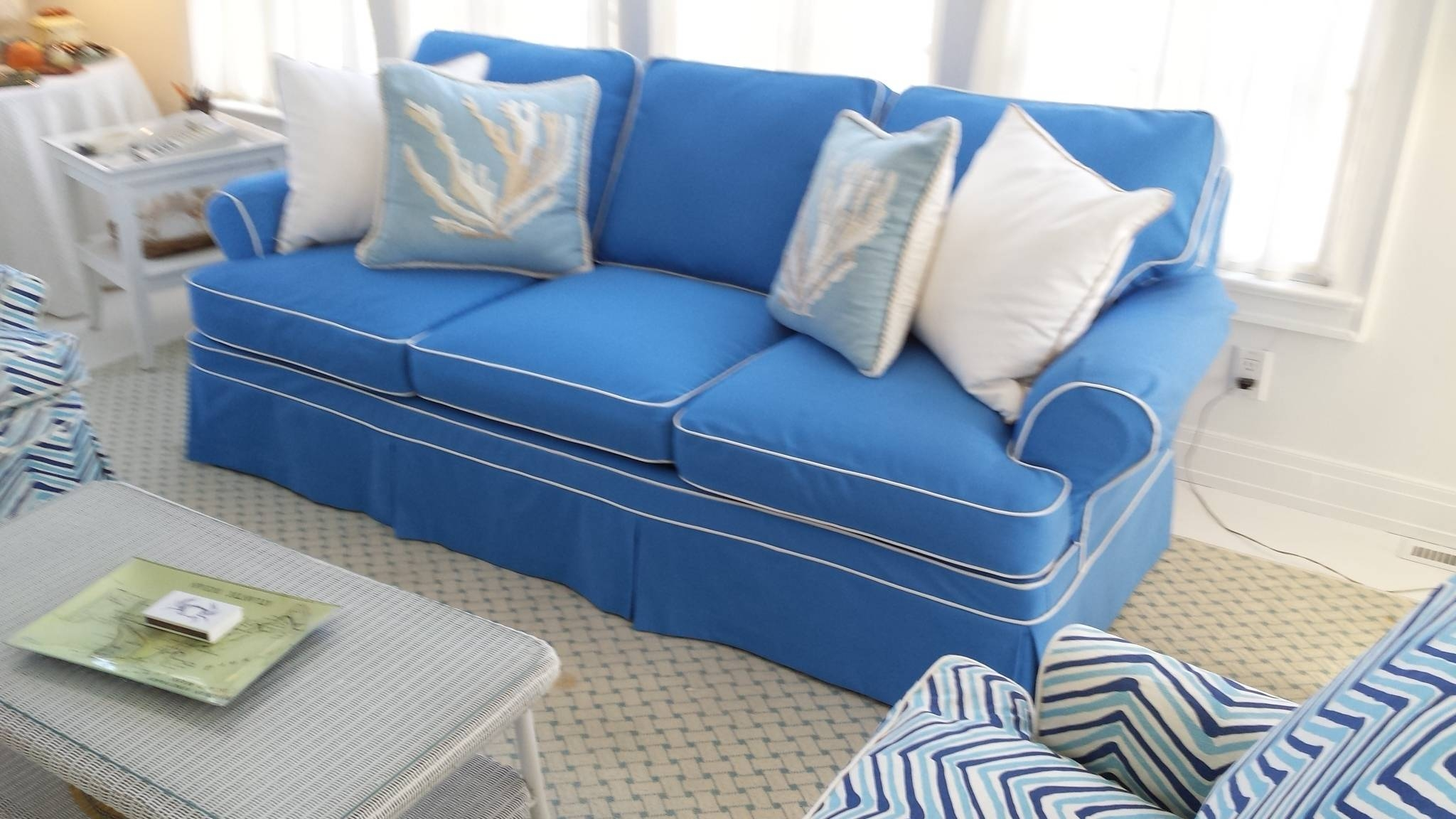 Featured Photo of Blue Slipcovers