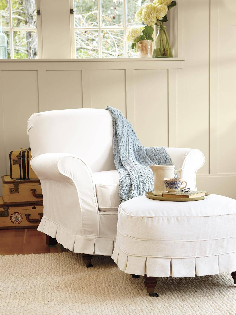 Featured Photo of Pottery Barn Chair Slipcovers